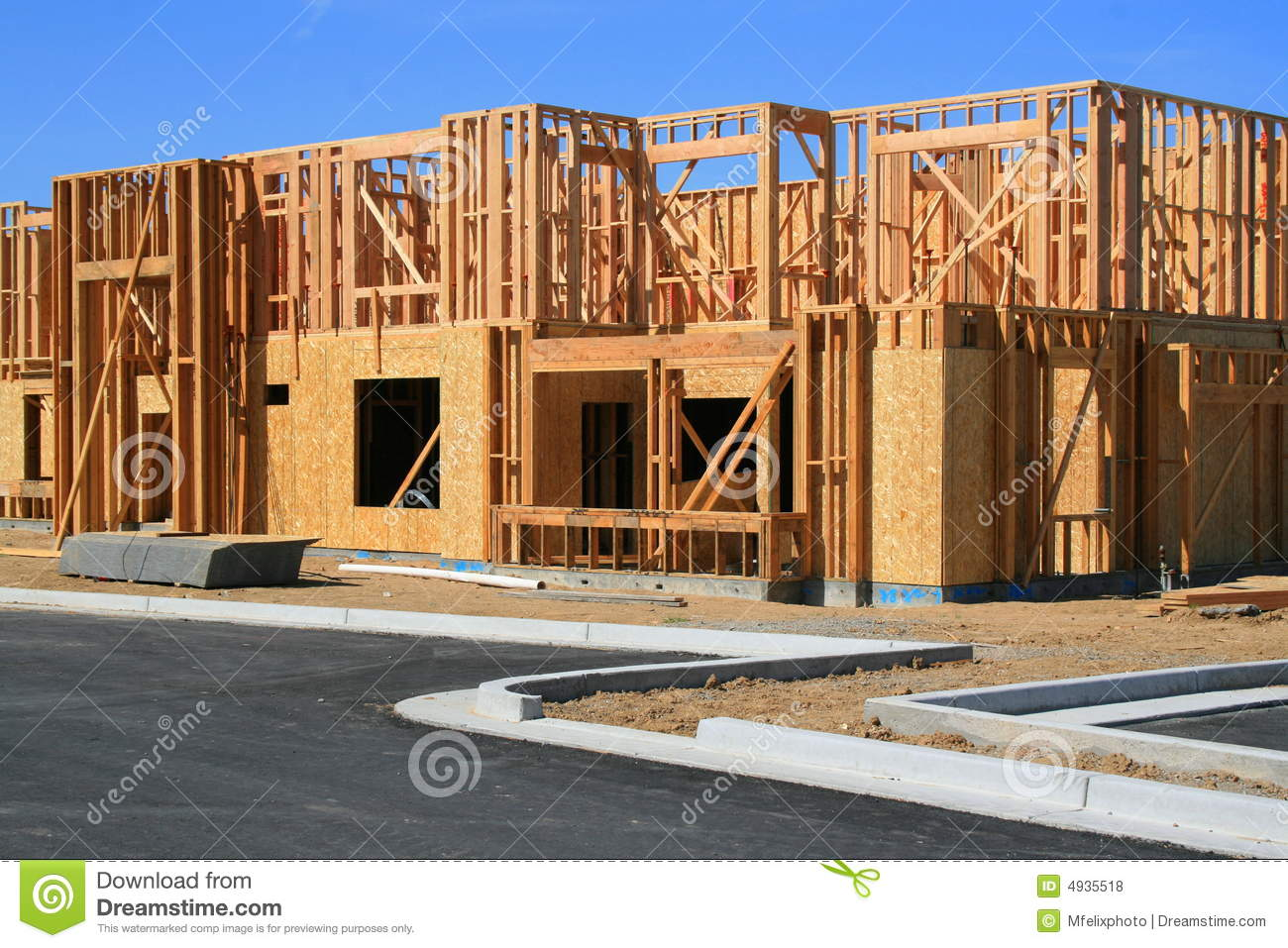 Building under construction royalty free stock photos for Building under construction insurance