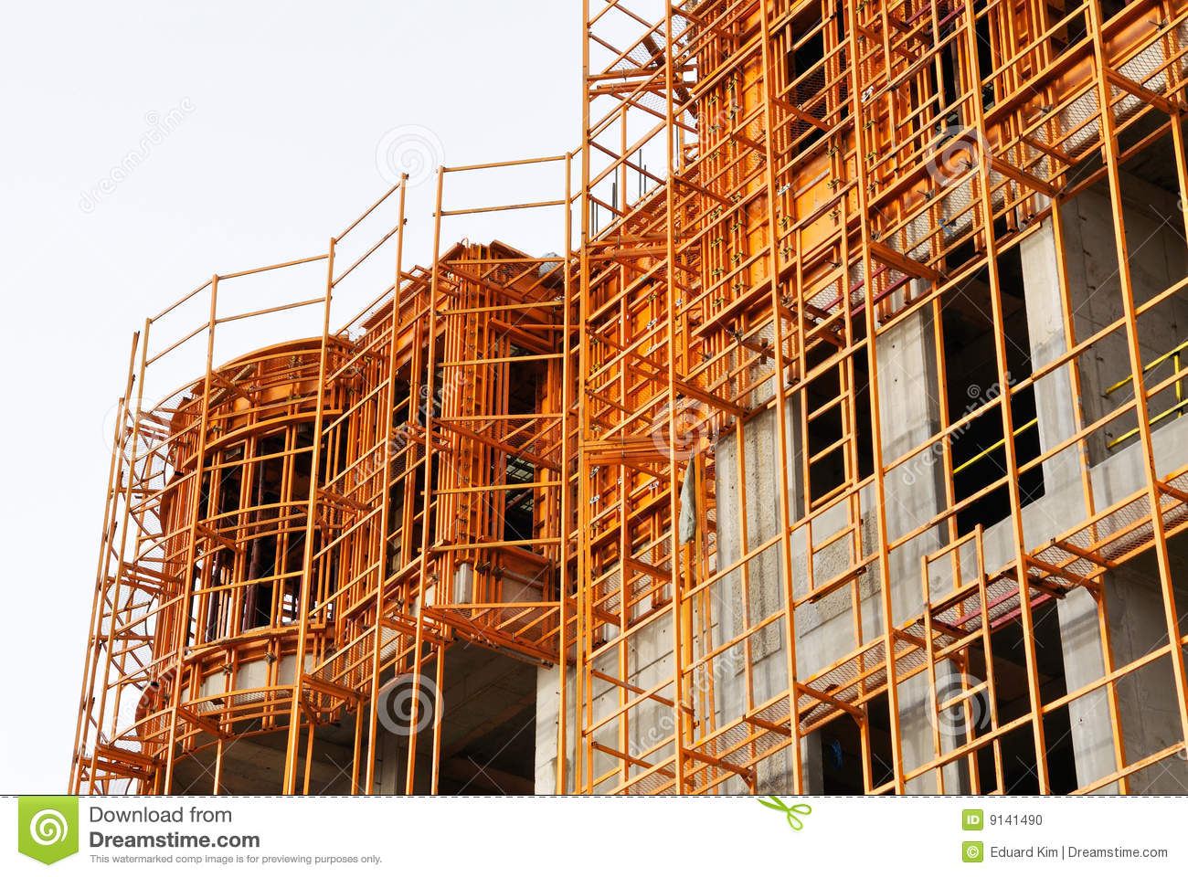 Building Under Construction Stock Photo - Image: 9141490
