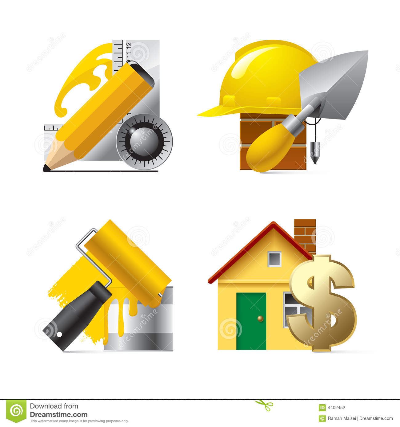 Building website icons