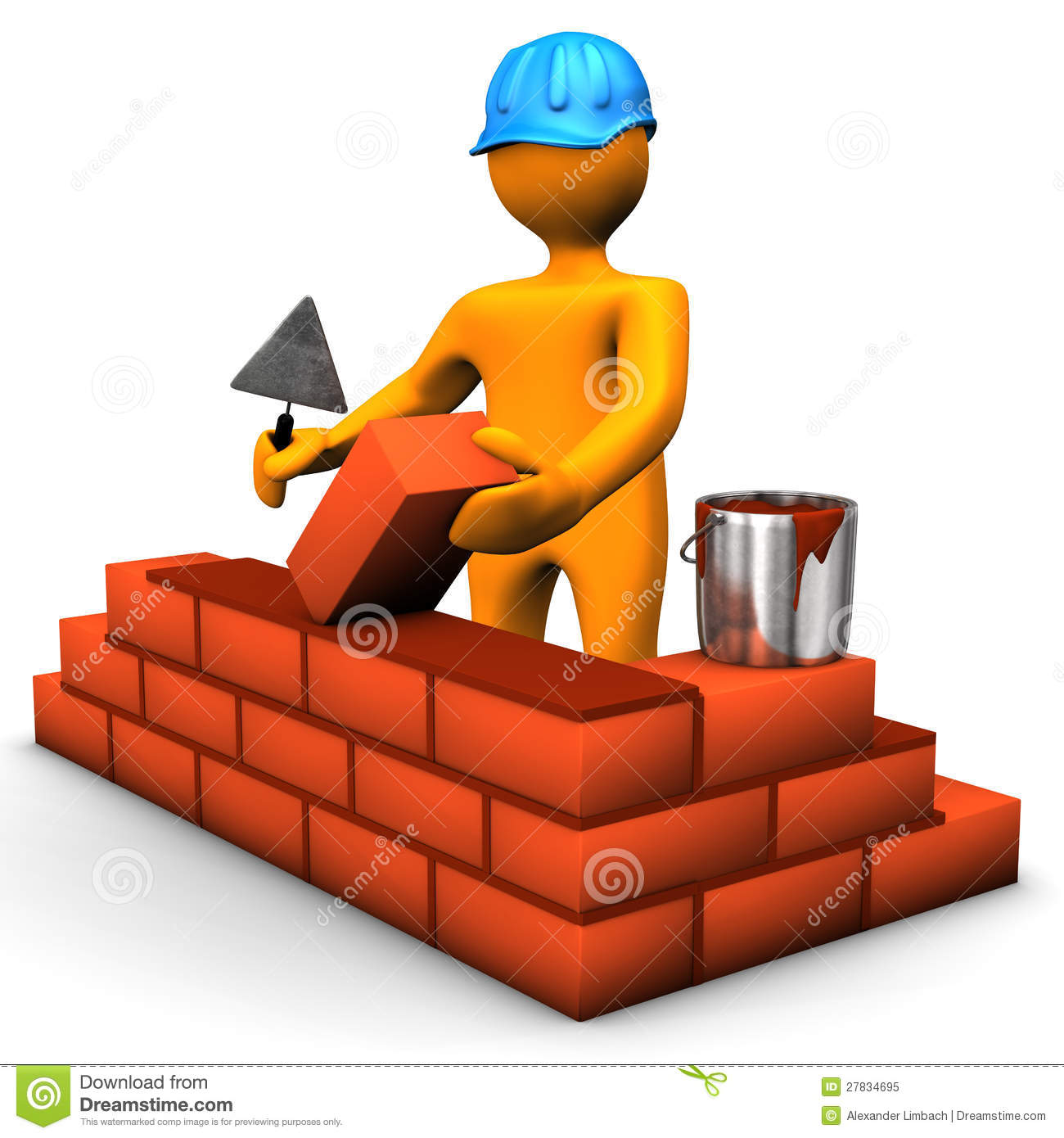 Building Worker Stock Illustration Of Person
