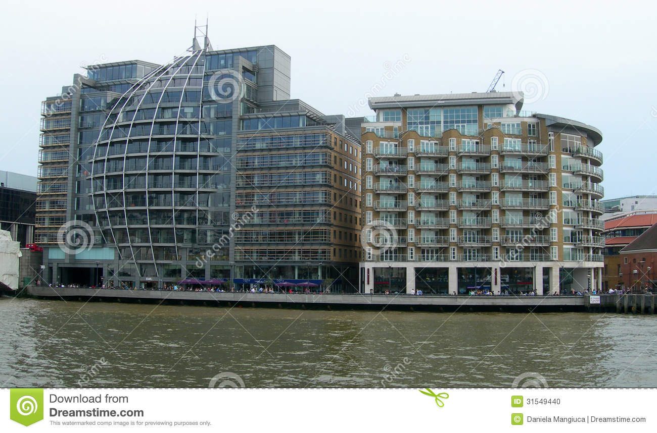 Buildings Along Thames In London Stock Photo Image 31549440