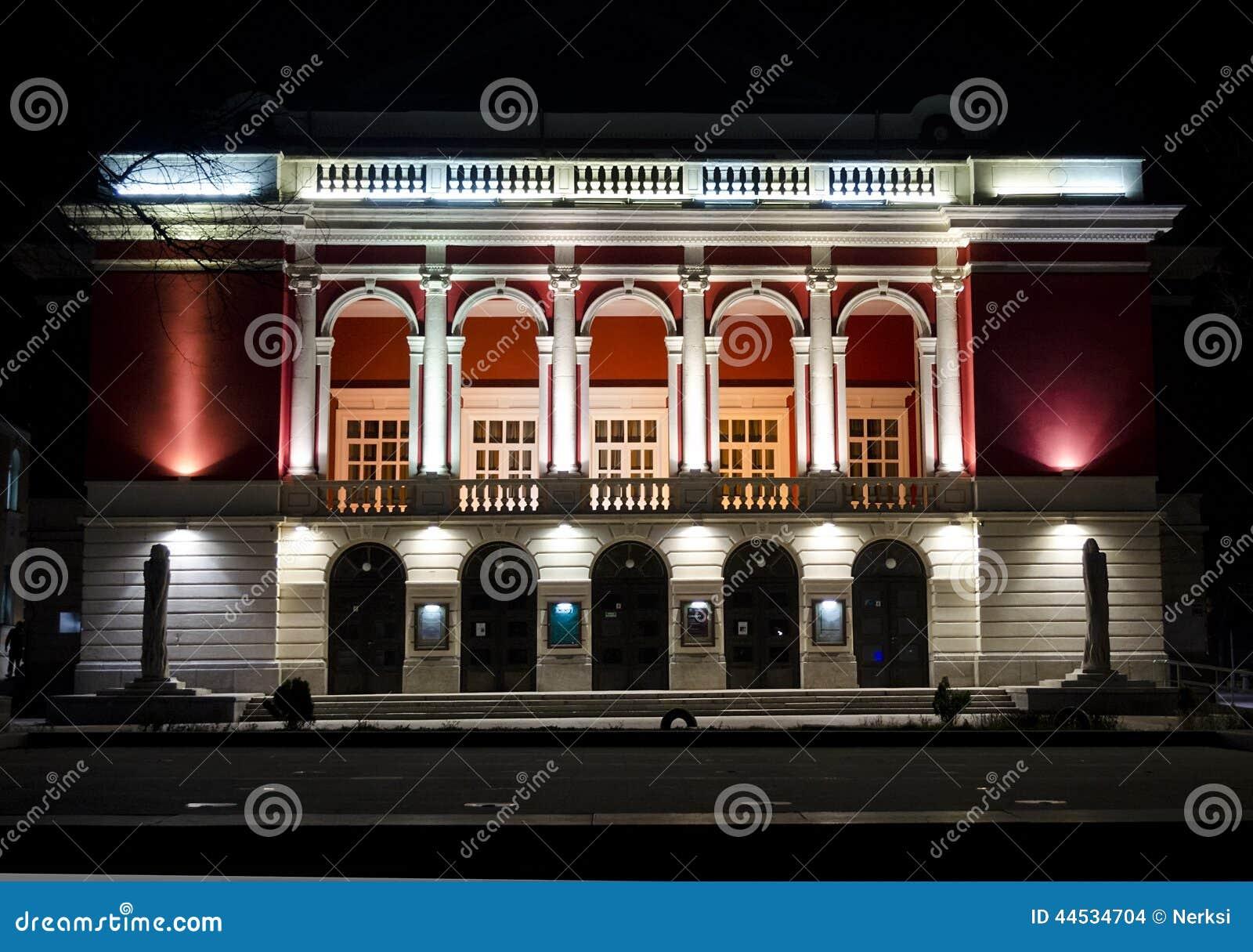 Buildings exteriors in Bulgaria