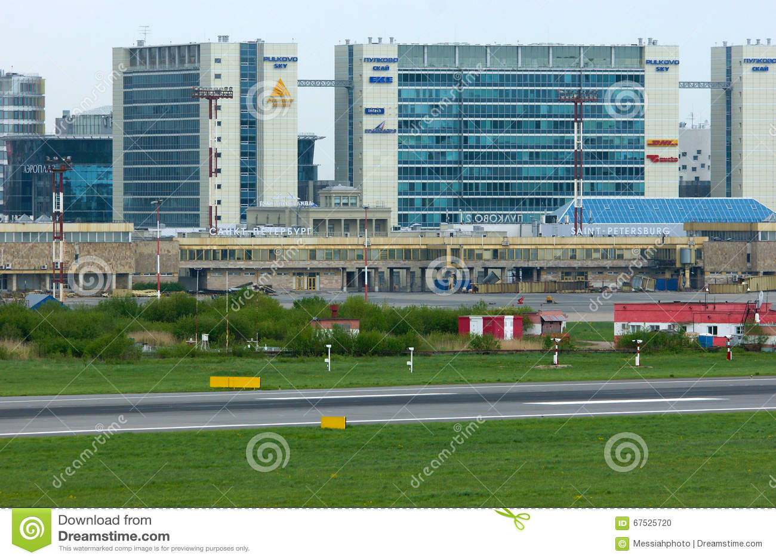 İş merkezi Pulkovo Sky: adres, fotoğraf
