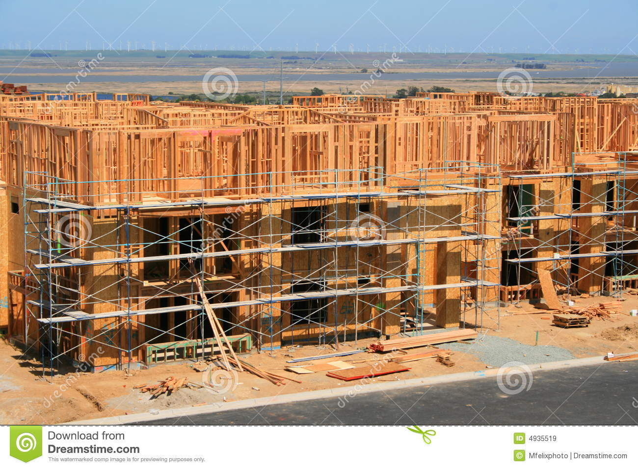 Buildings under construction royalty free stock images for Building under construction insurance