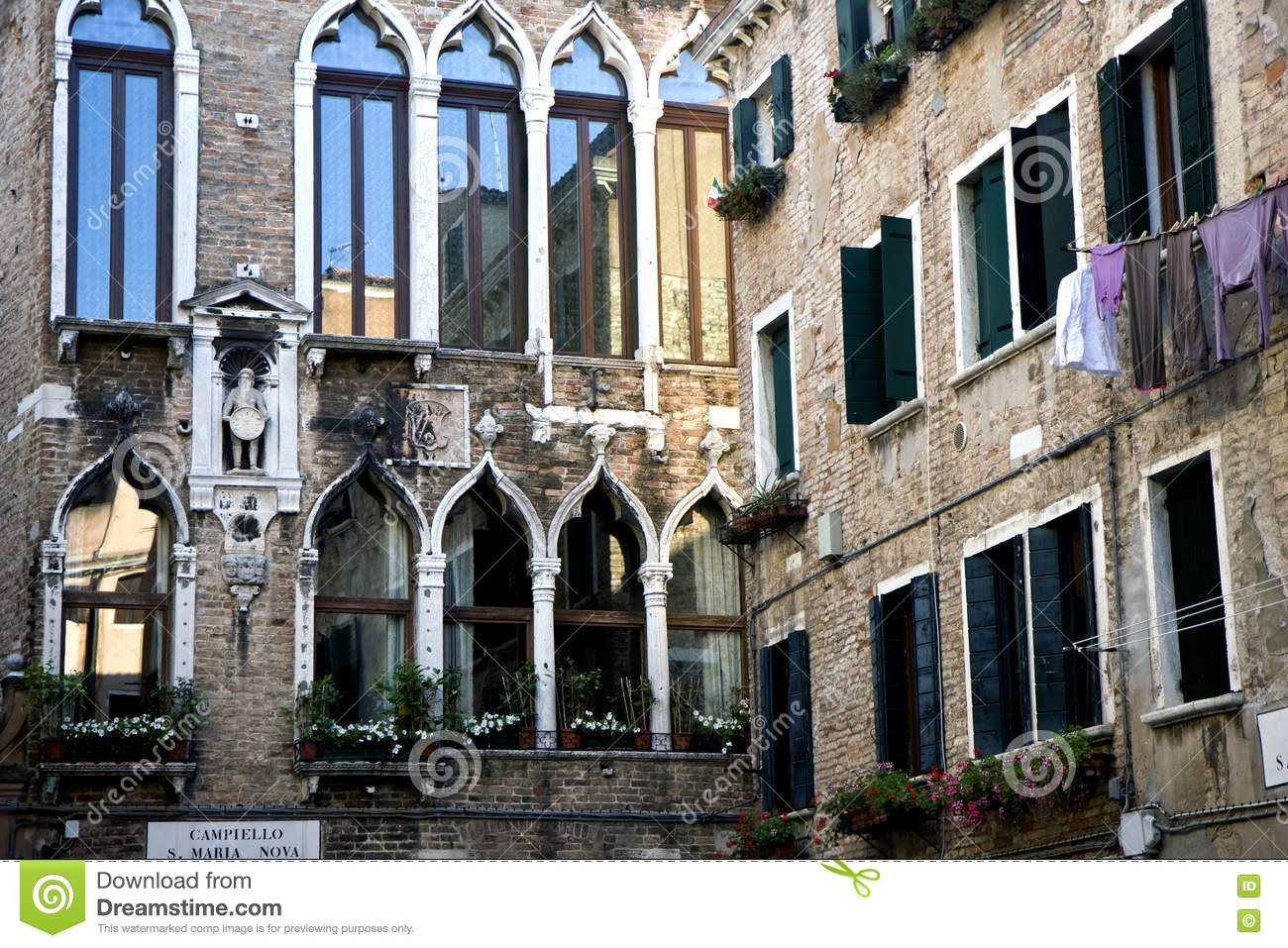 buildings in venice royalty free stock photo image 20643105