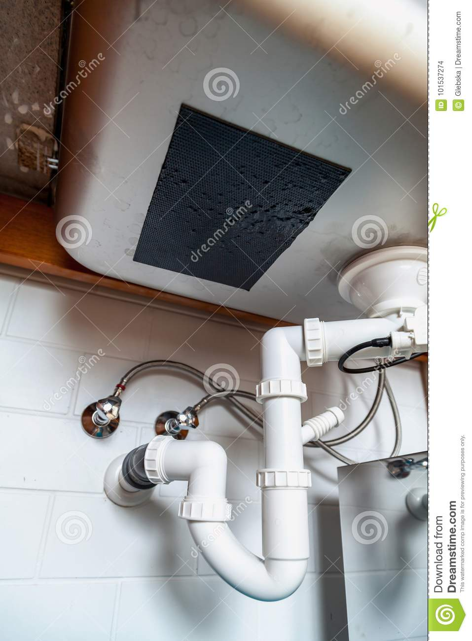 Drainage system - plastic or metal