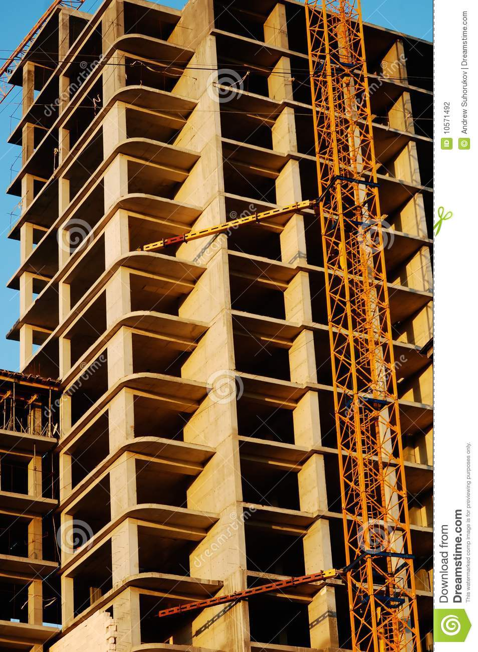Built Panel Apartment House Stock Photography Image