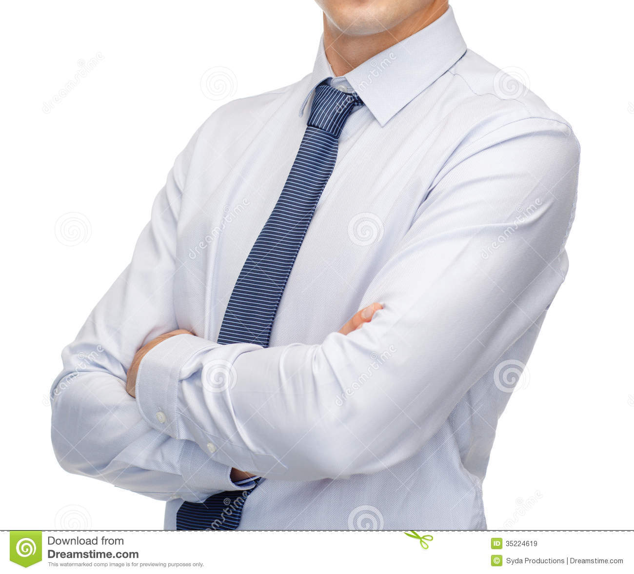 Buisnessman In Shirt And Tie Royalty Free Stock Images ...