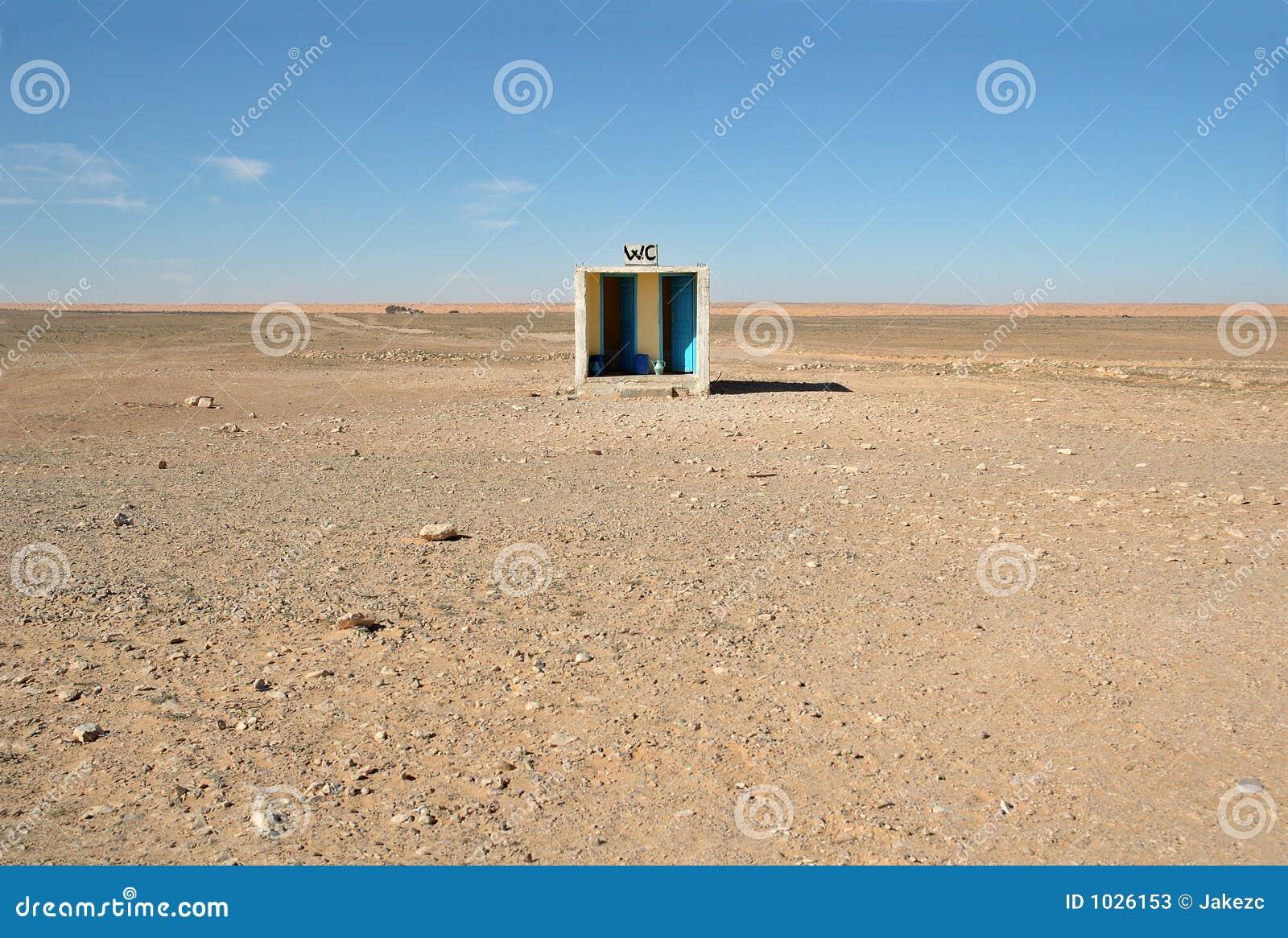 Buiten toilet in woestijn stock afbeelding afbeelding bestaande uit arabier 1026153 - Wc a l oud ...