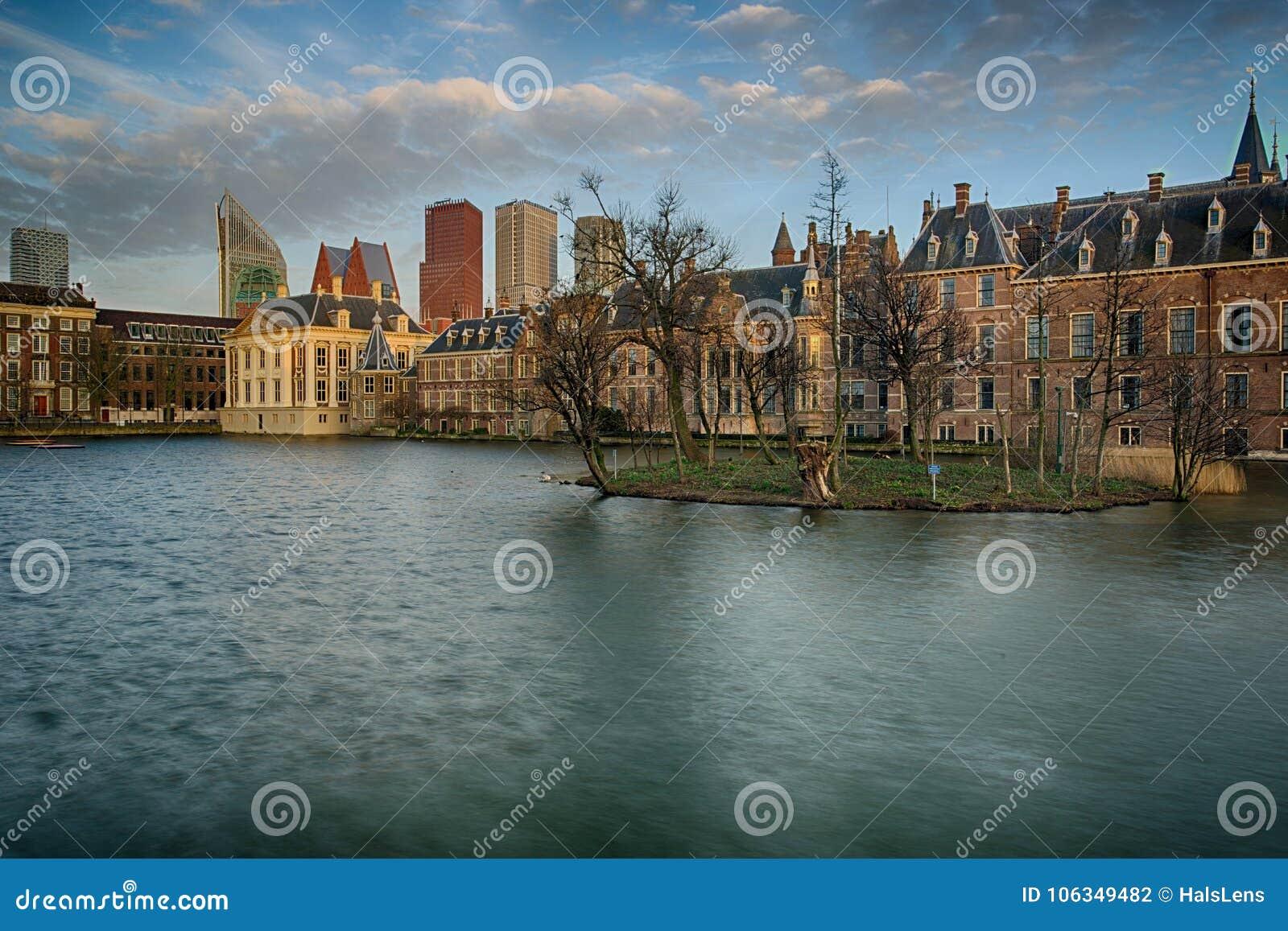 Buitenhof, casas do parlamento holandês em Haia