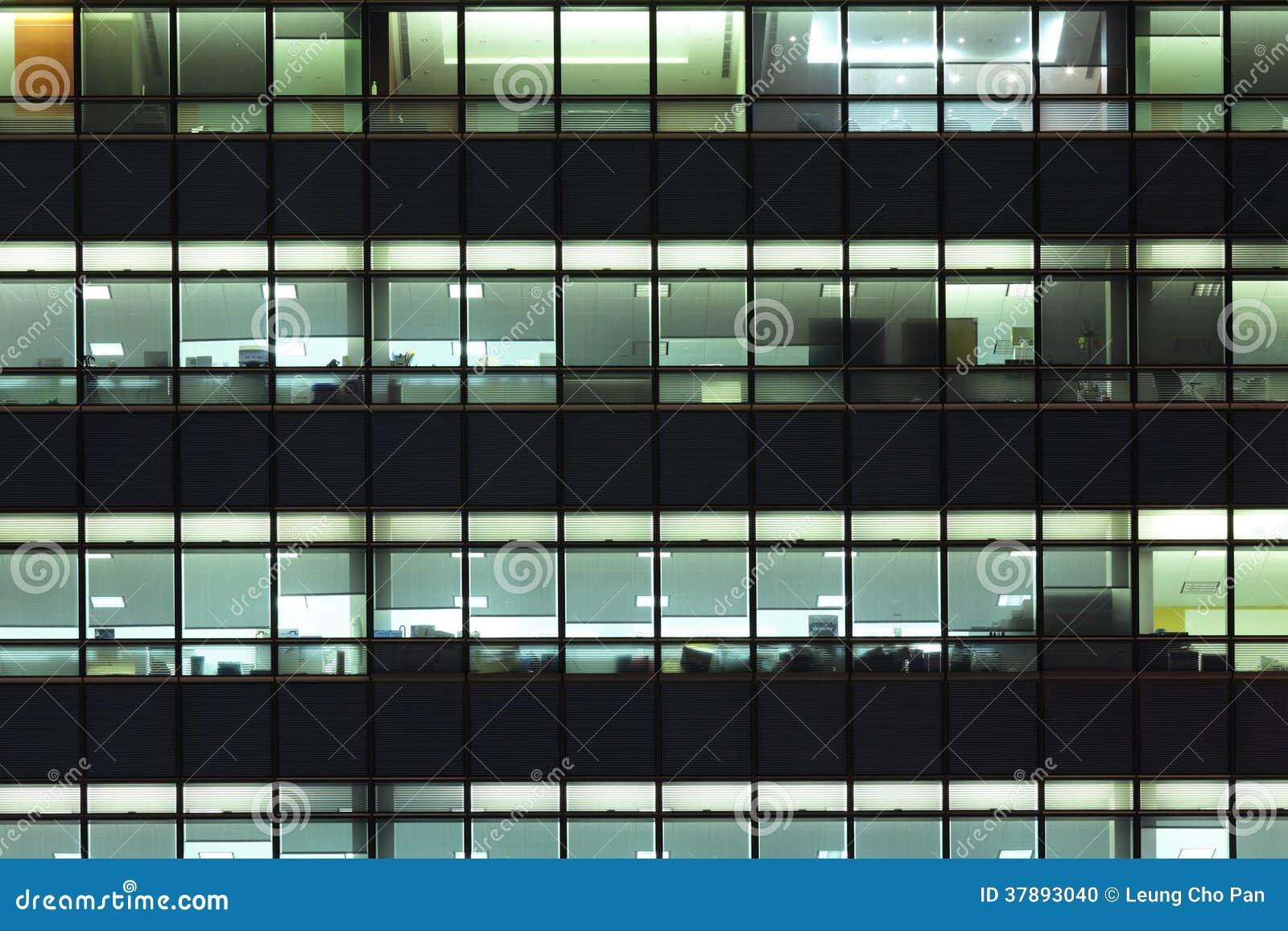 Buitenkant van de bureaubouw
