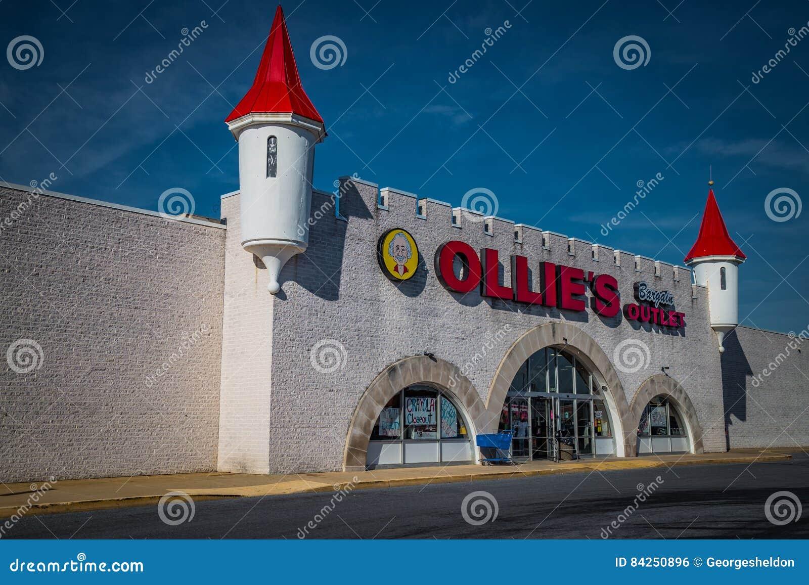 Buitenkant van Ollies-de Kleinhandelsplaats van de Koopjesafzet