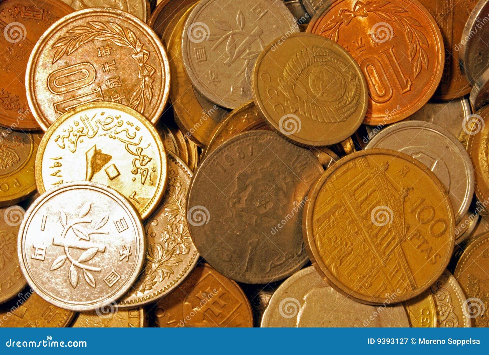 Buitenlandse muntstukken