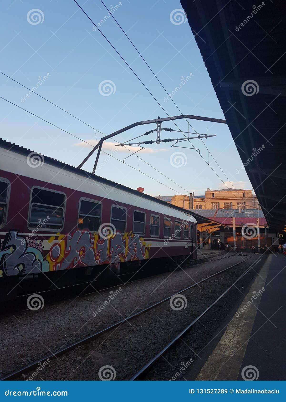 Bukarest-Bahnhof