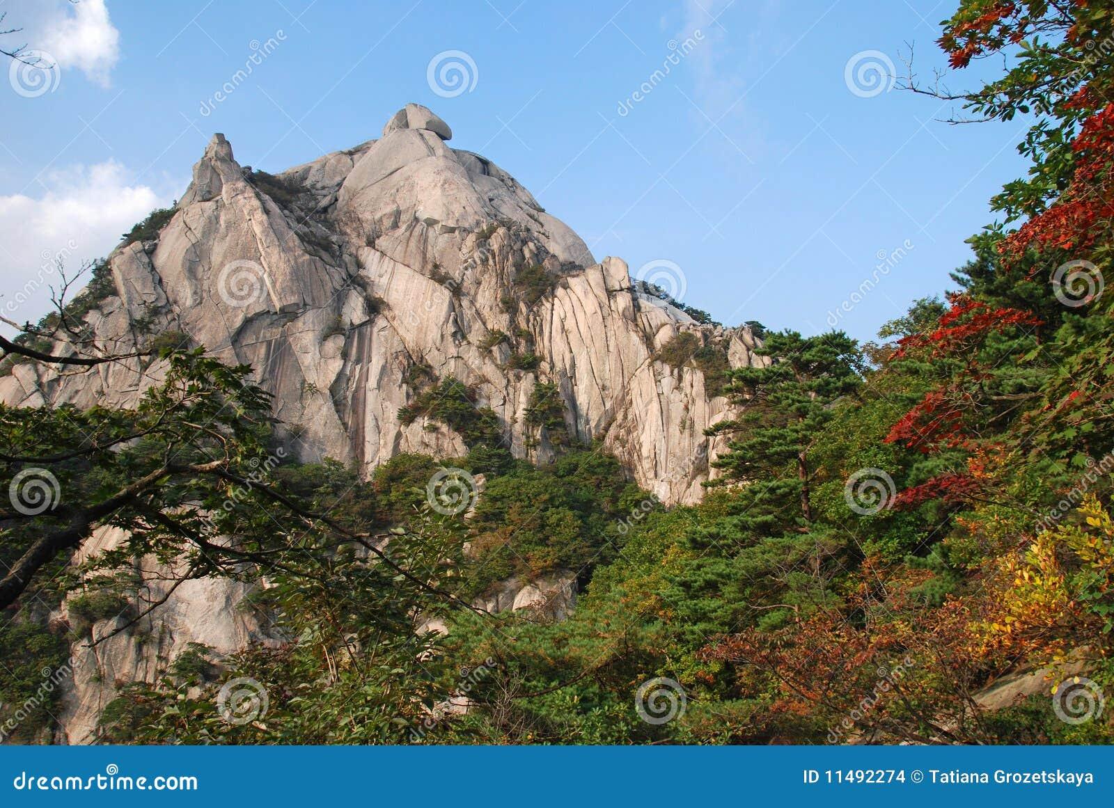 Bukhansan berg seoul