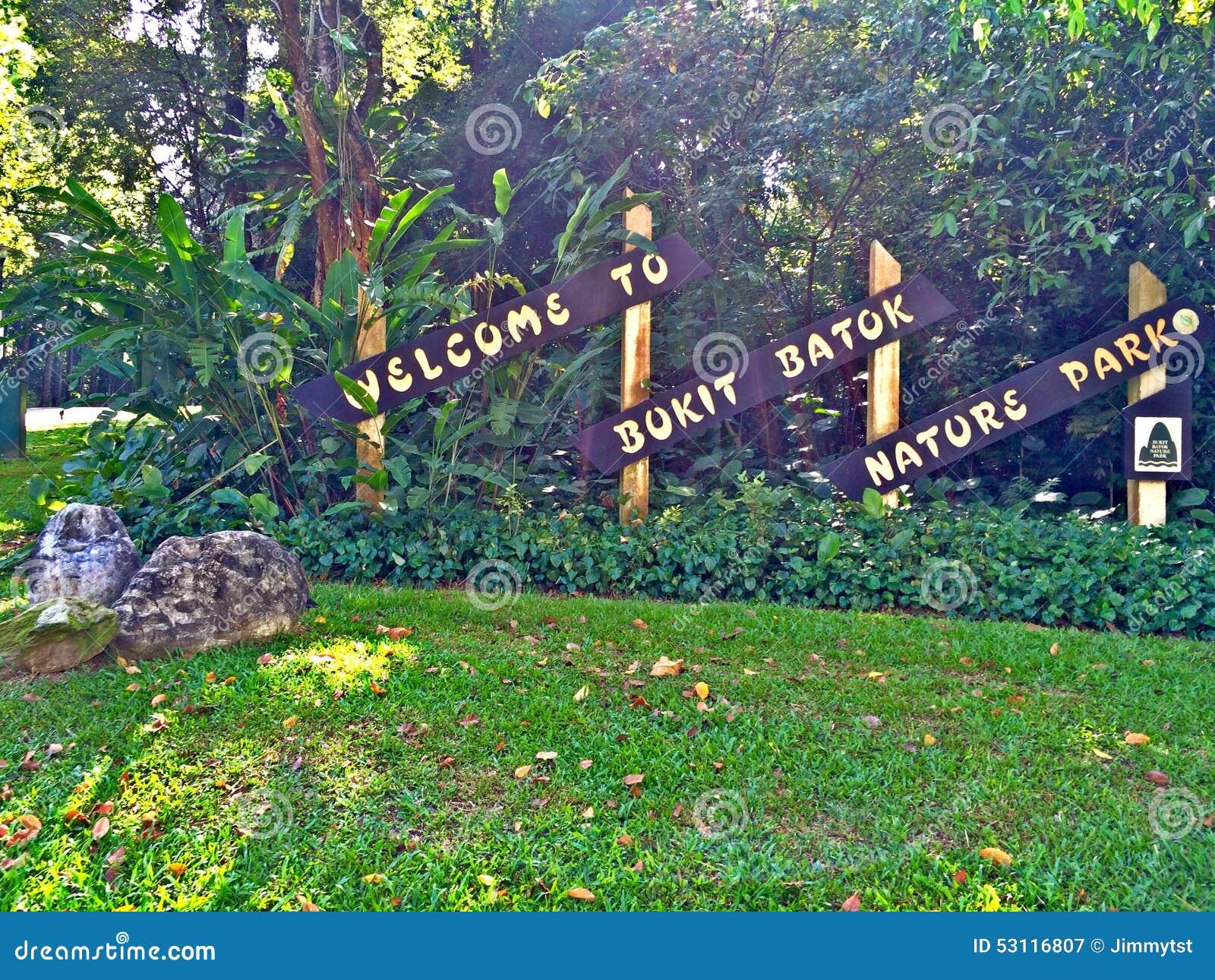 Bukit Batok Nature Park Map