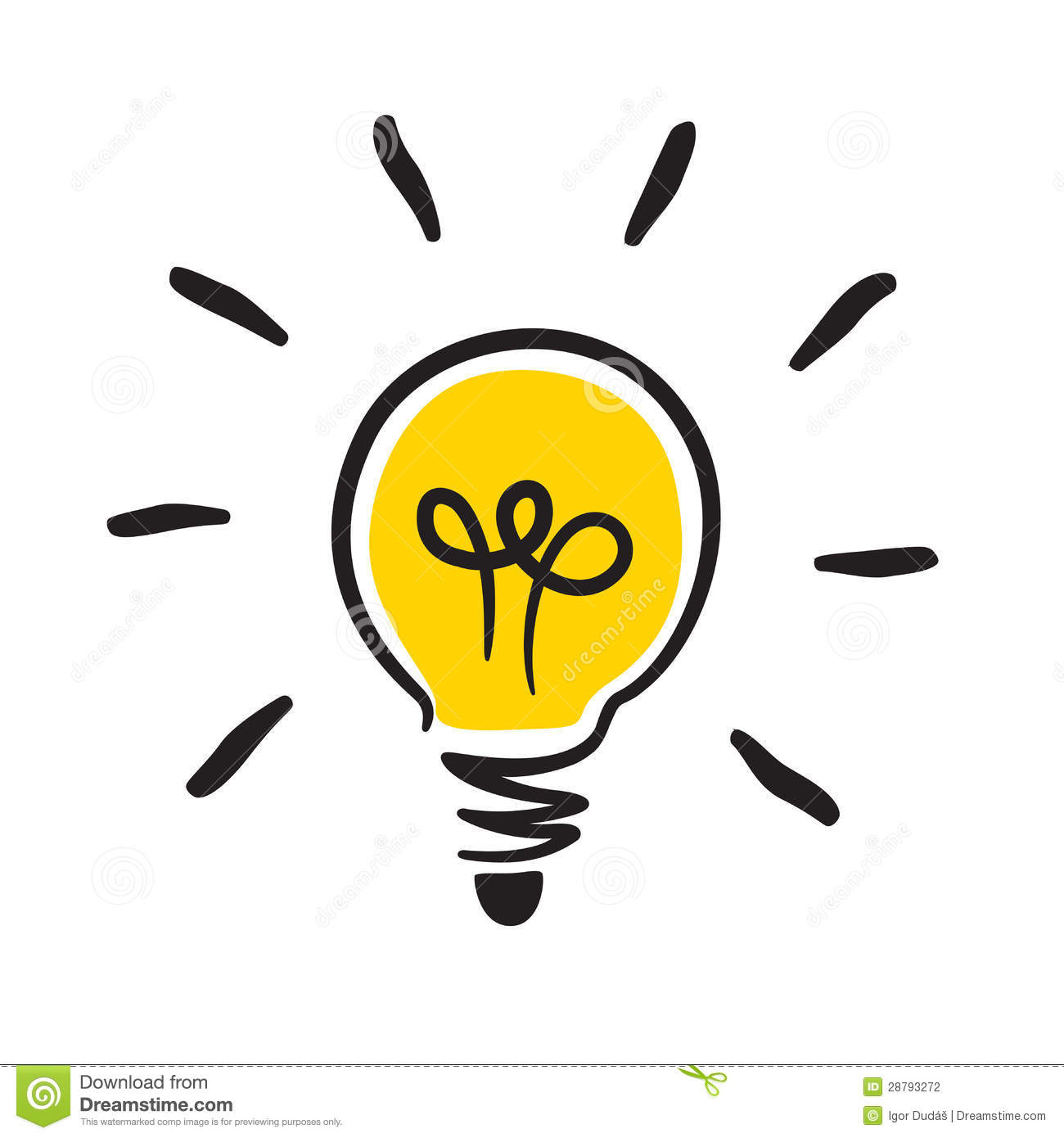 Bulb Icon Stock Photography - Image: 28793272