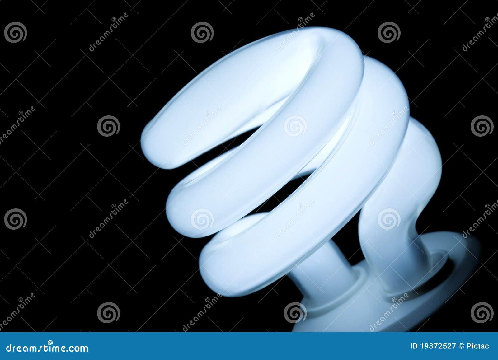 Bulbo claro da economia da energia
