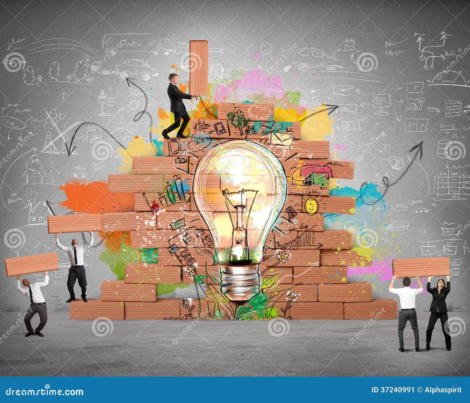 Bulding a new creative idea