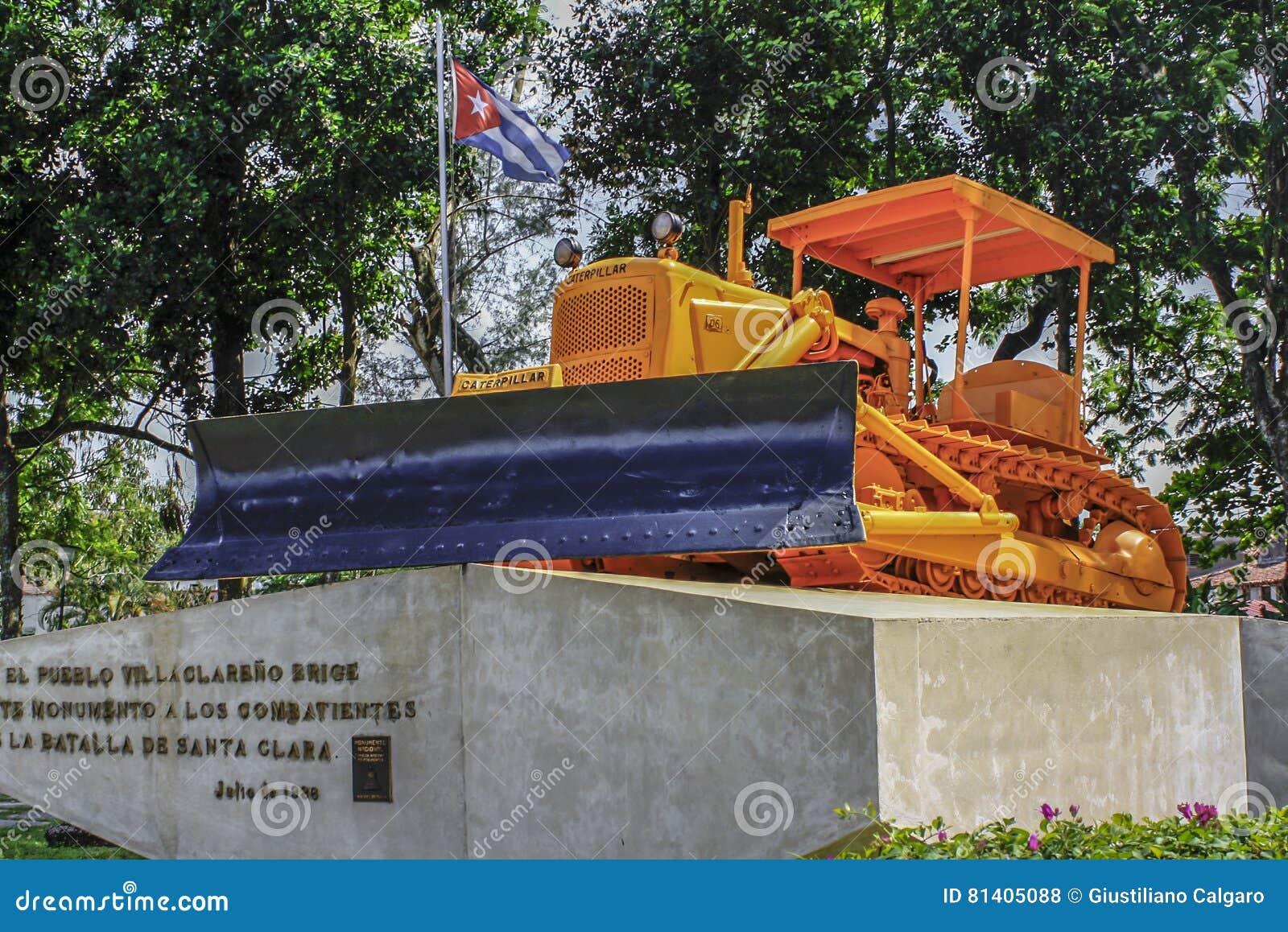 Buldożer w Kuba
