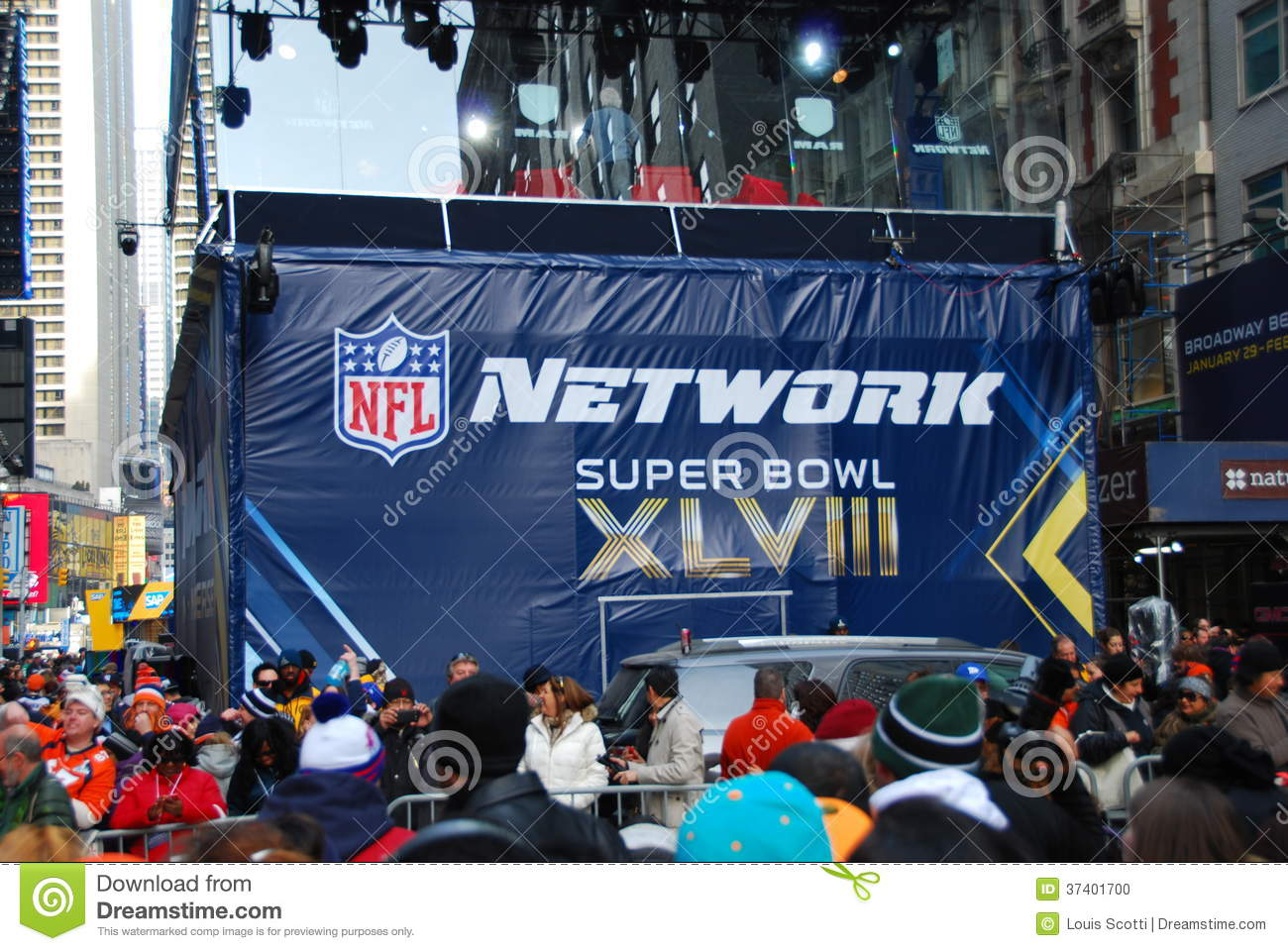 Bulevar do Super Bowl - New York City