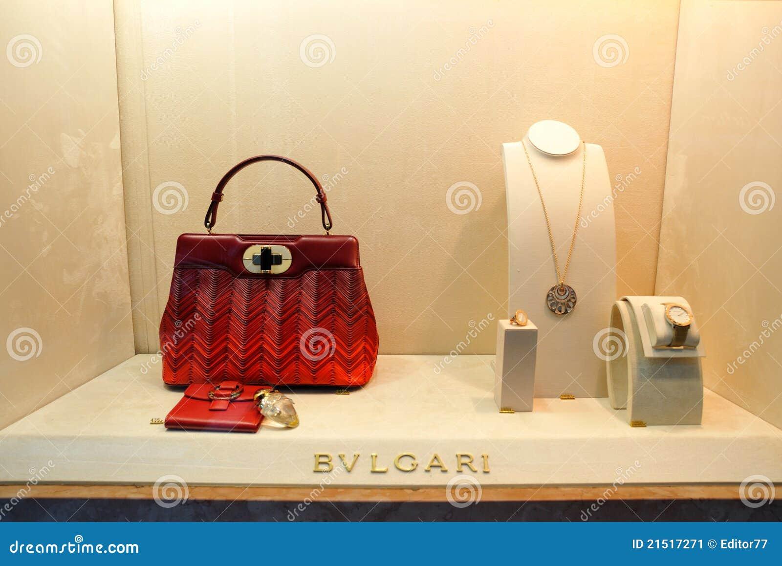 Bulgari luxury fashion store in Germany