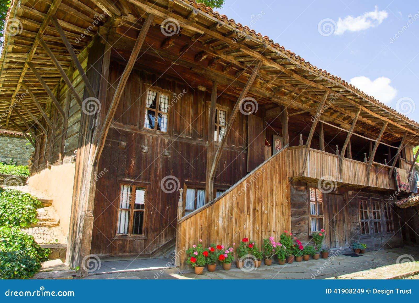 Bulgaria Arquitectura de madera tradicional de los Balcanes