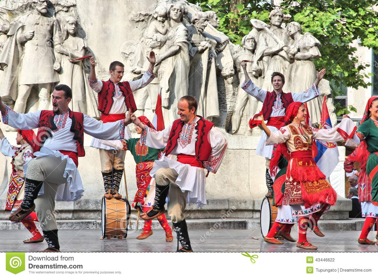 Bulgarian Culture In Hungary Editorial Photography Image