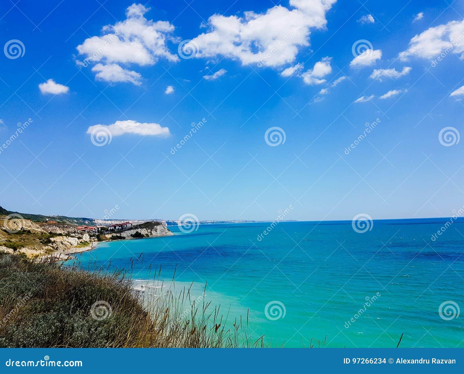 Bulgarisk kust och Black Sea