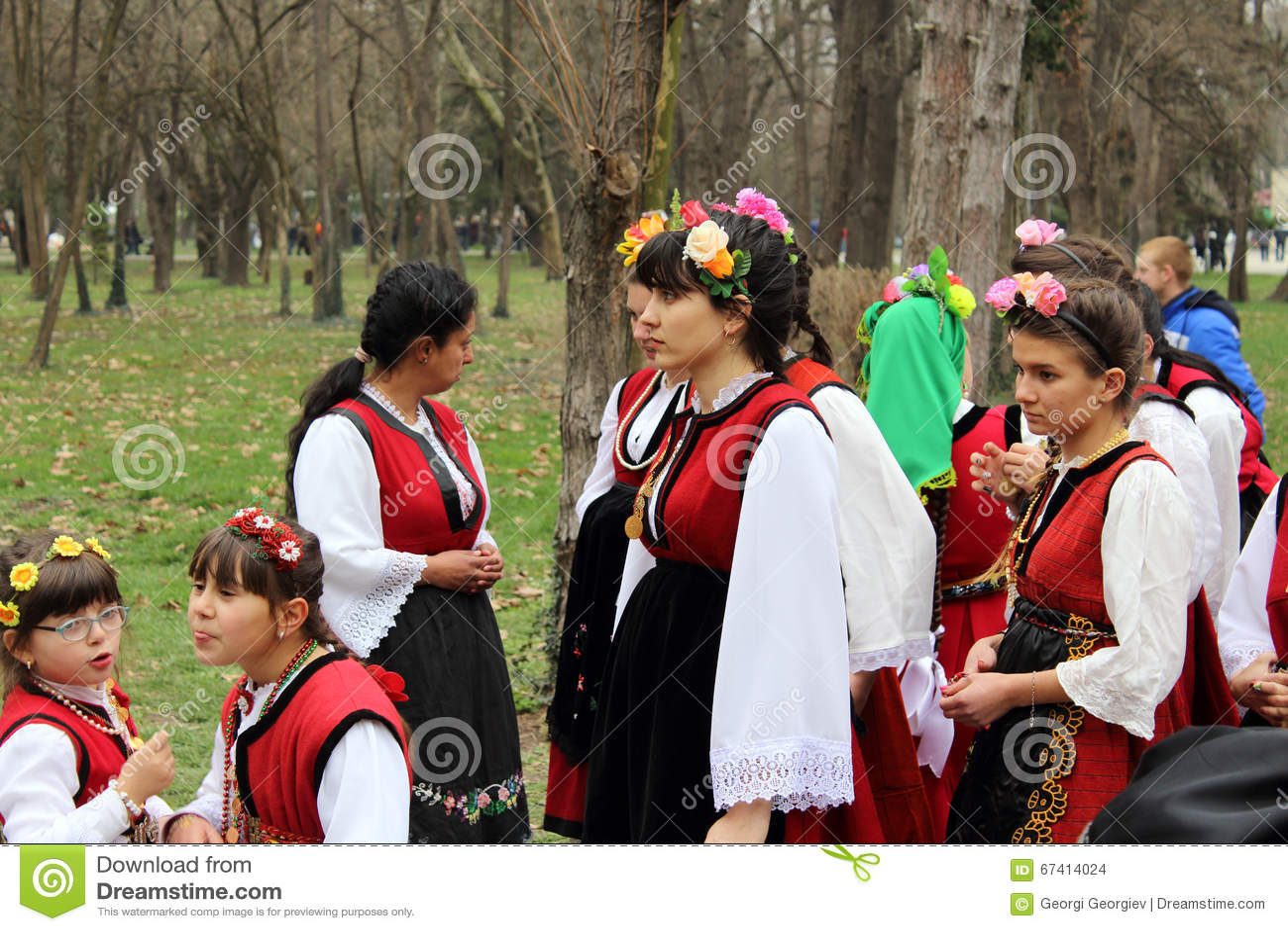 Bulgariska medborgaredräkter