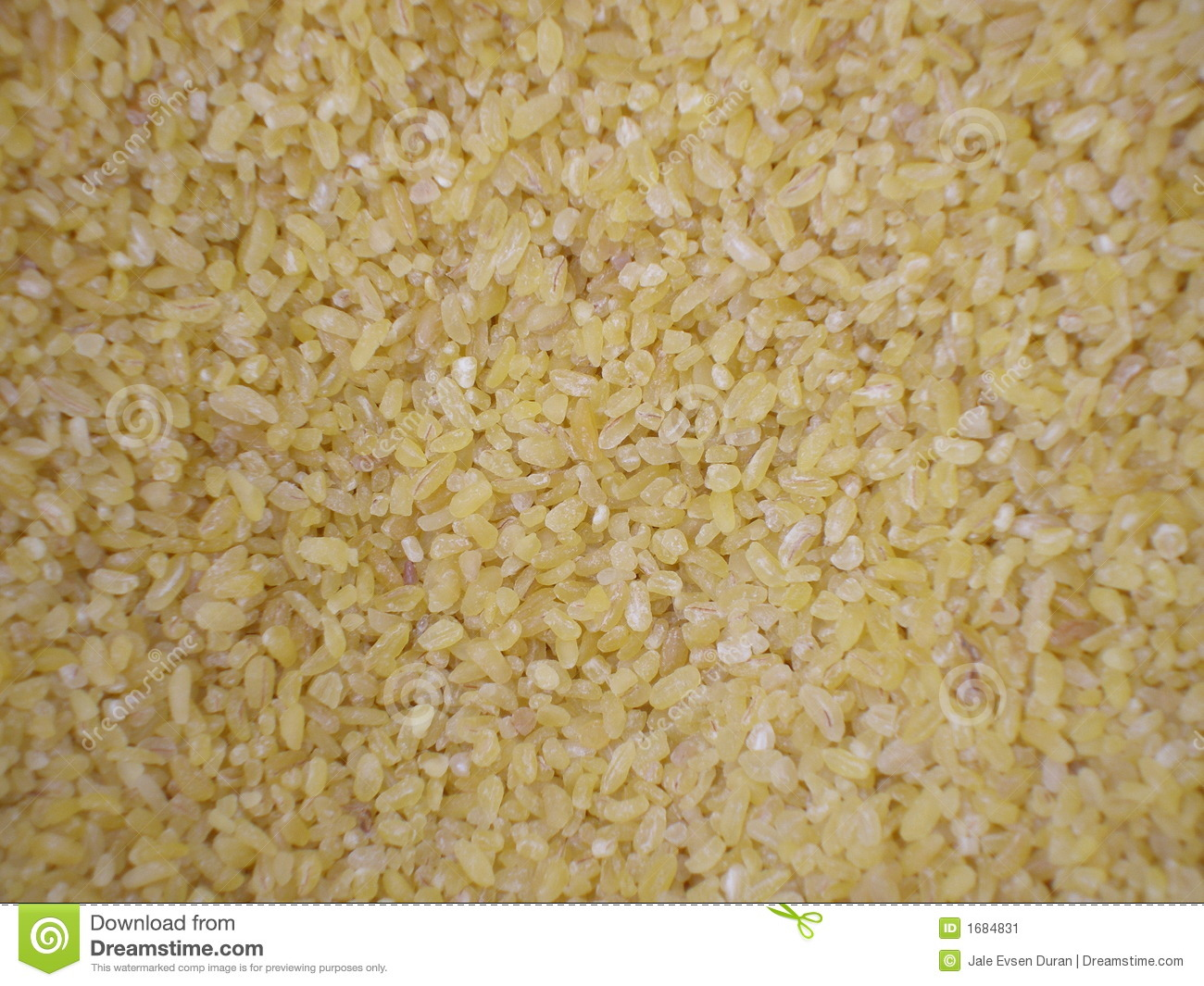 Stock image: bulgur weat in bulk