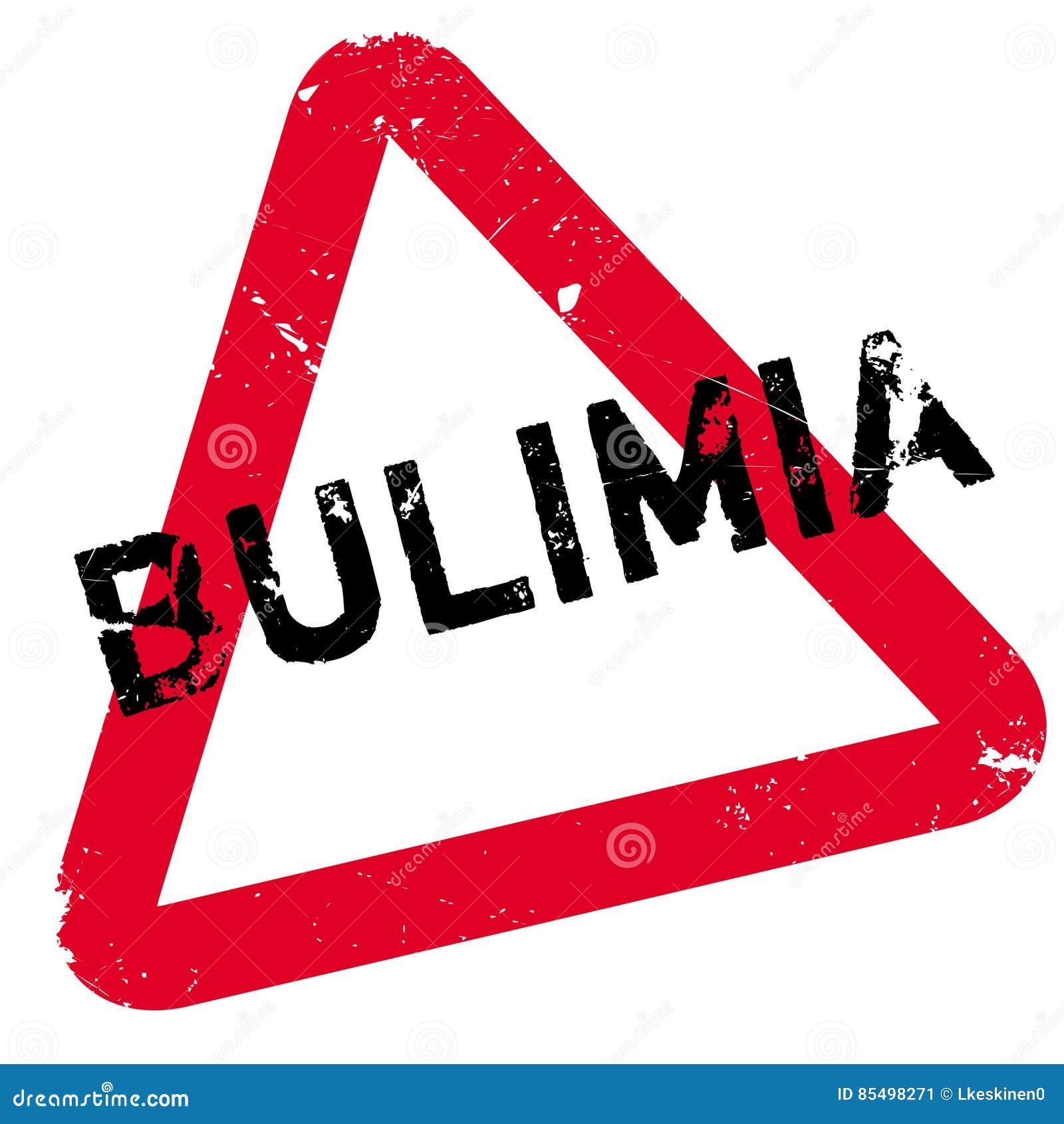 bulimia rubber stamp stock illustration illustration of button
