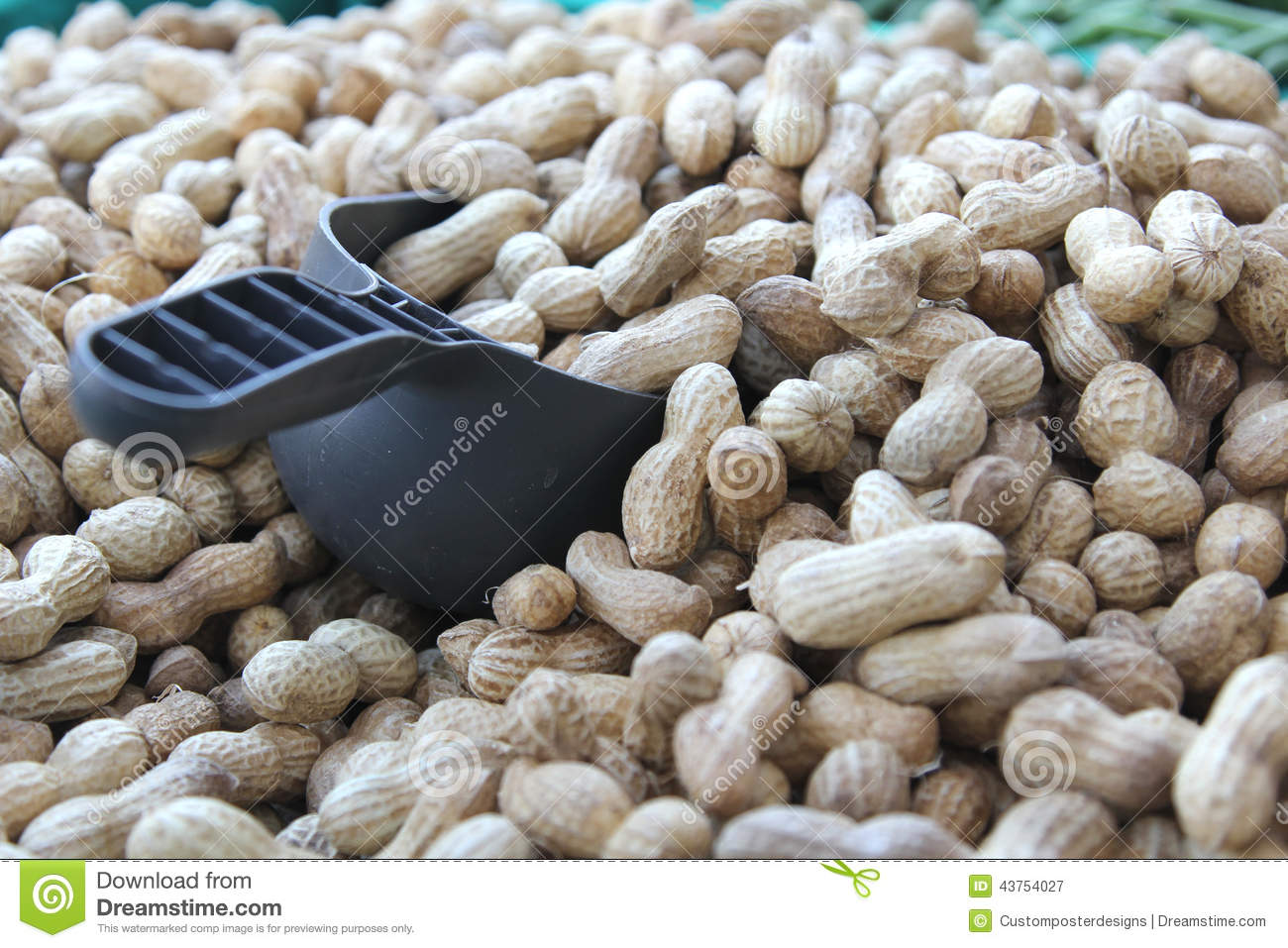 Download Bulk Peanuts At The Farmer's Market. Stock Image - Image of lilfestyle, health: 43754027