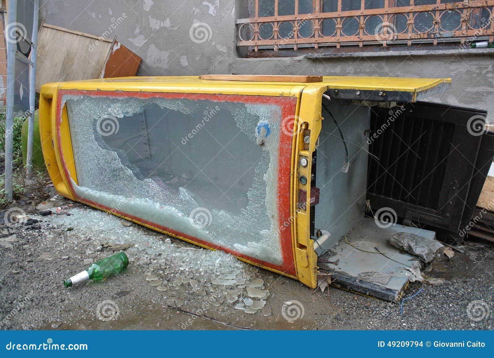 Bulky waste stock photo image 49209794 - Rd wastebasket ...