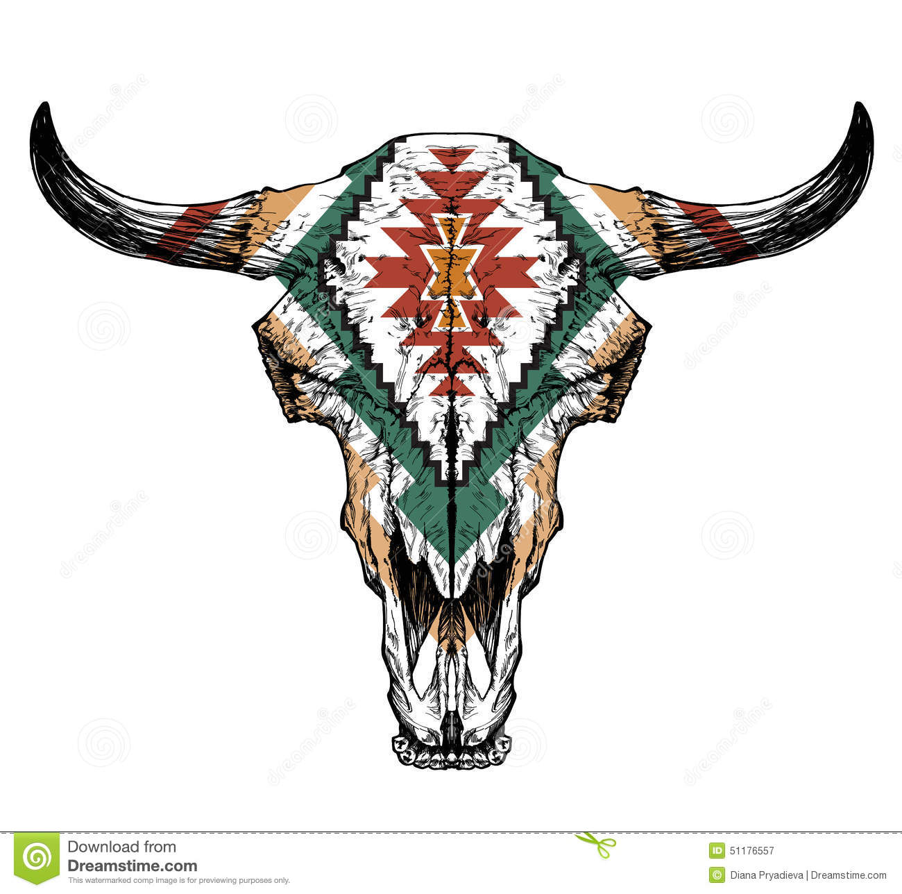 painted cow skull designs related keywords painted cow
