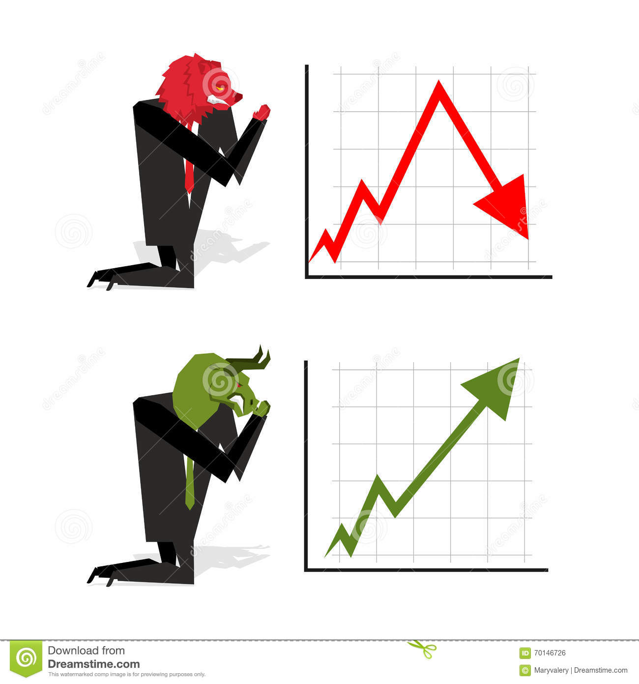 Bull and bear pray to bet on stock exchangeeen up arrow red download bull and bear pray to bet on stock exchangeeen up arrow red altavistaventures Images