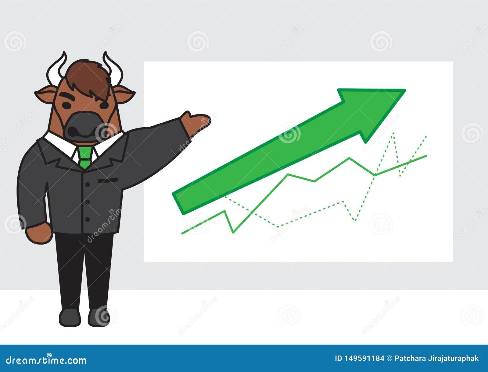 Bull character design.stock concept