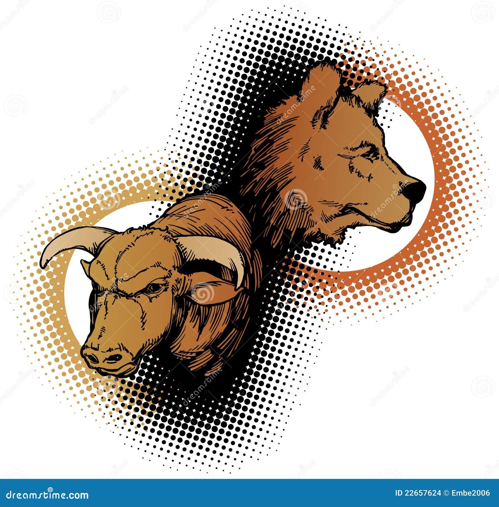 Bull et ours