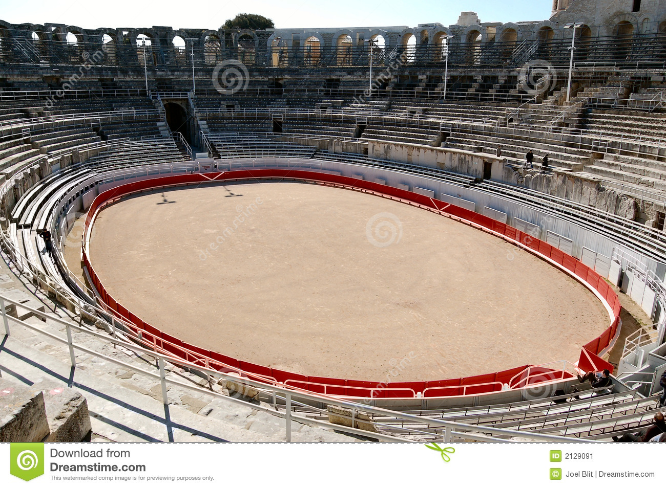 Bull ring in Roman Colisseum