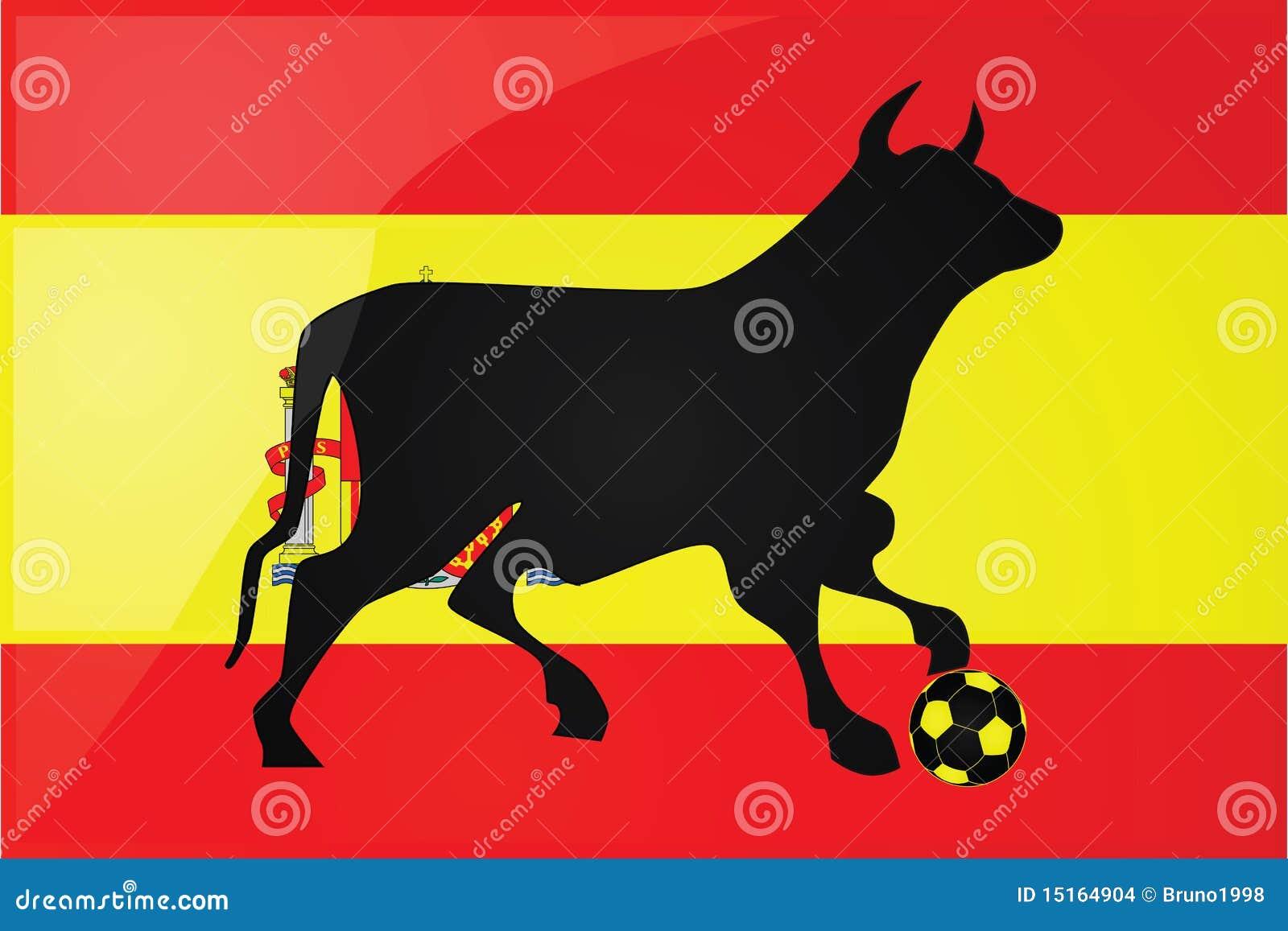 Bull Spanish soccer