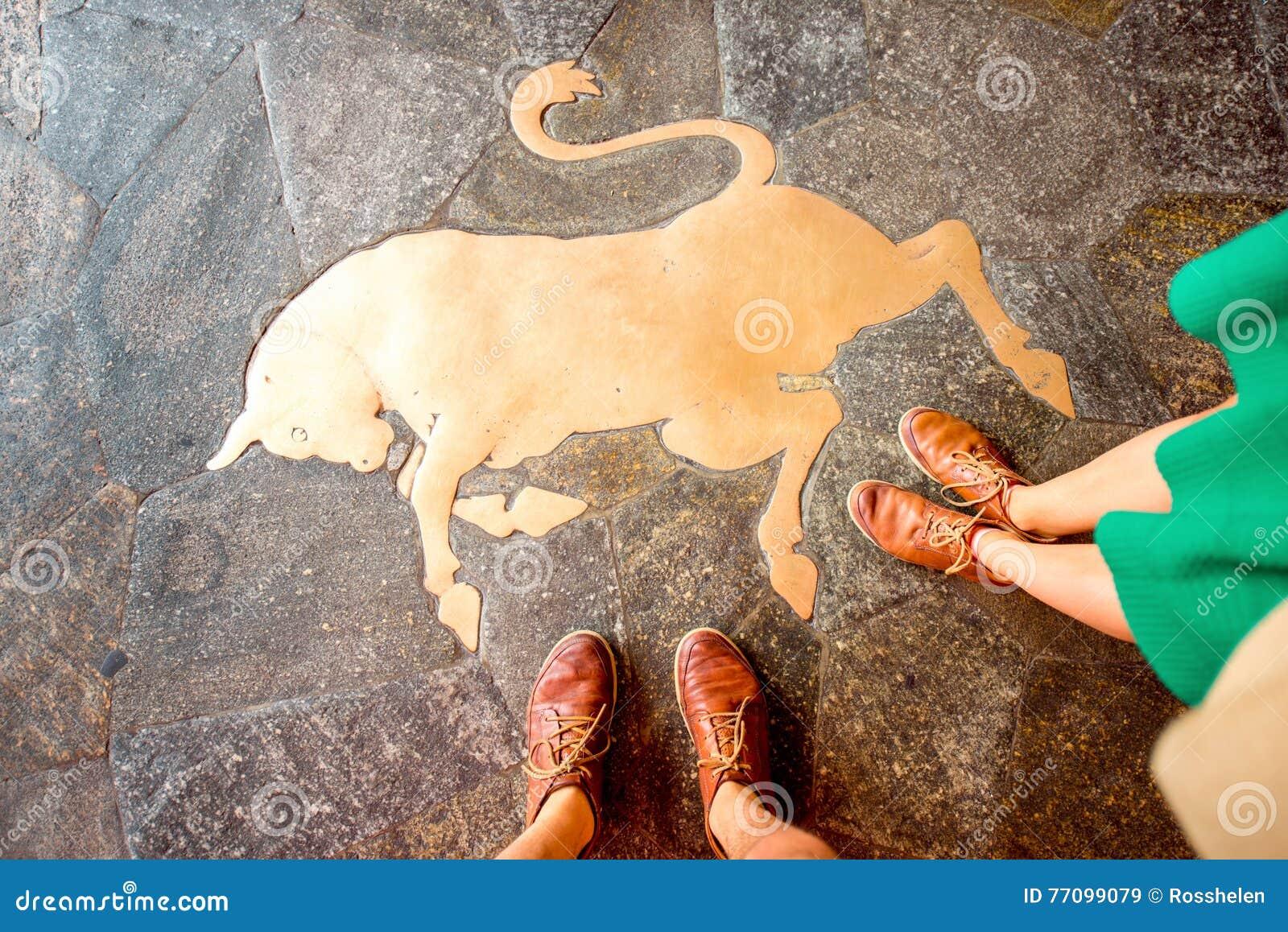 Bull symbol in Turin
