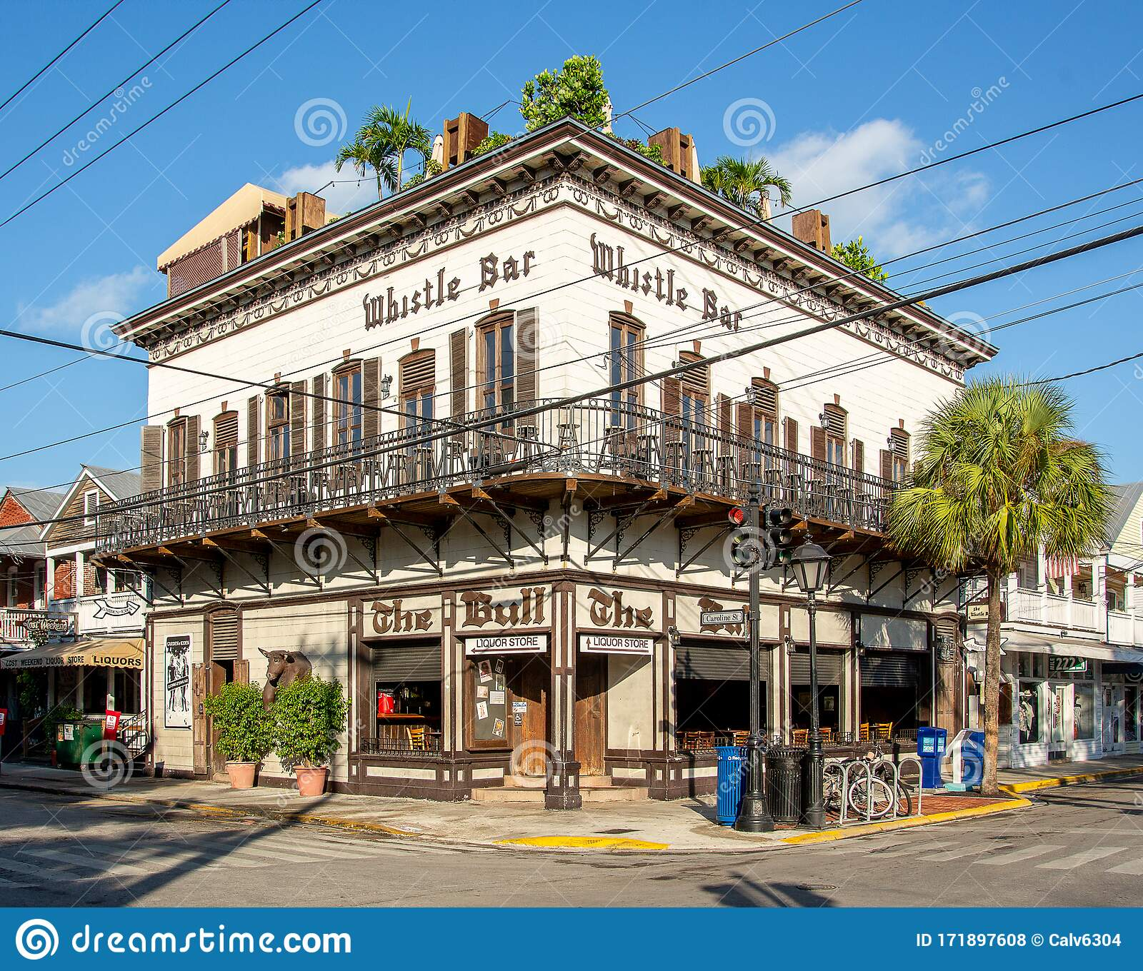 The Bull Whistle Bar On Duval Street In Key West Florida Editorial Stock Photo Image Of Weather Tropical 171897608