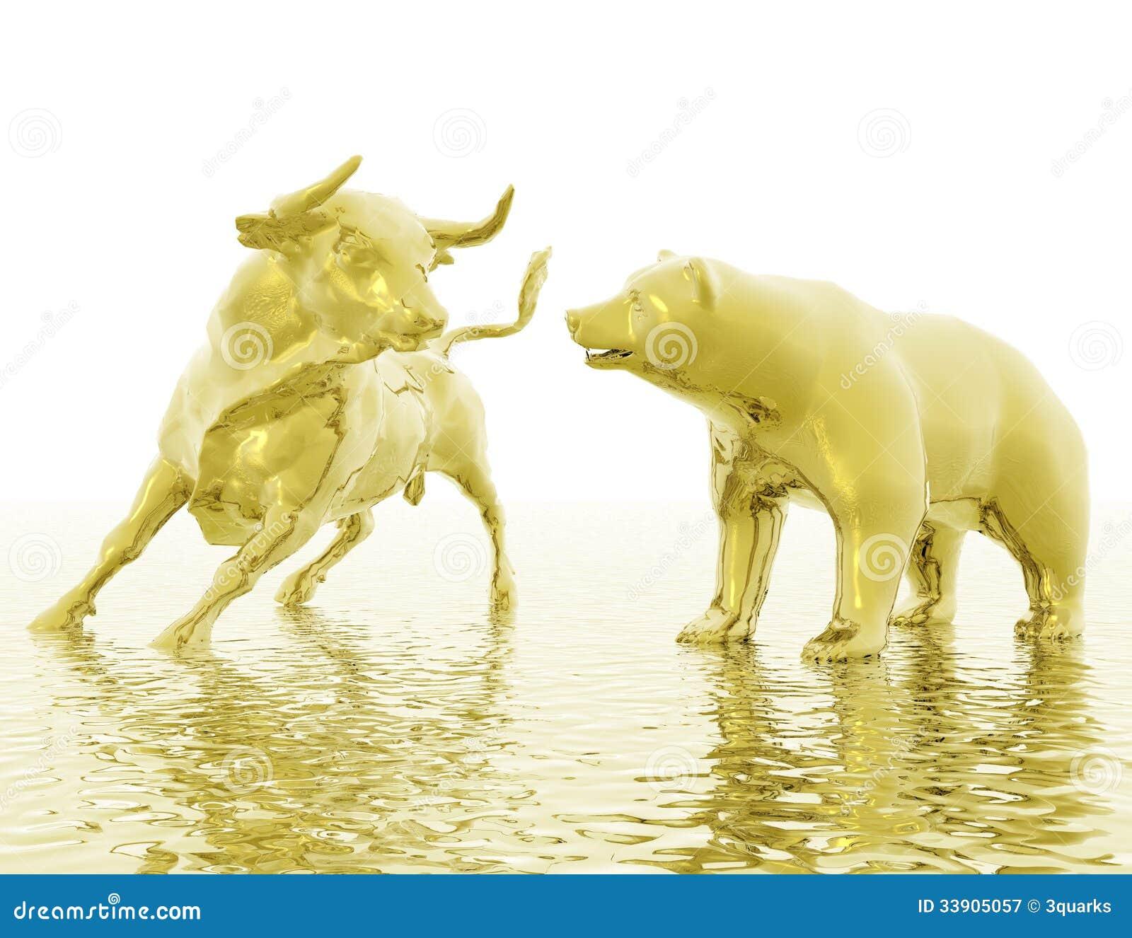Bull y oso