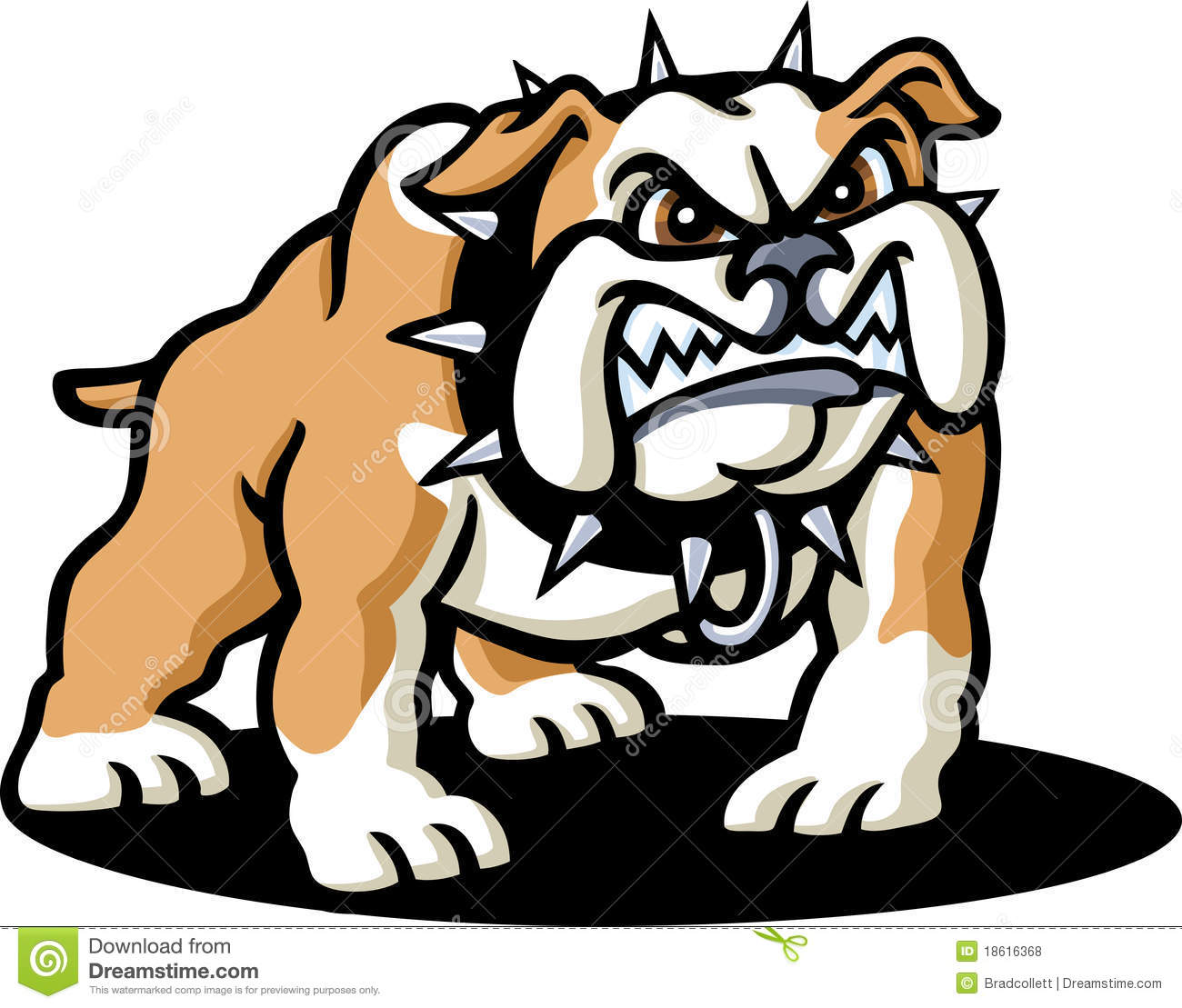 Bulldog Royalty Free Stock Photos - Image: 18616368