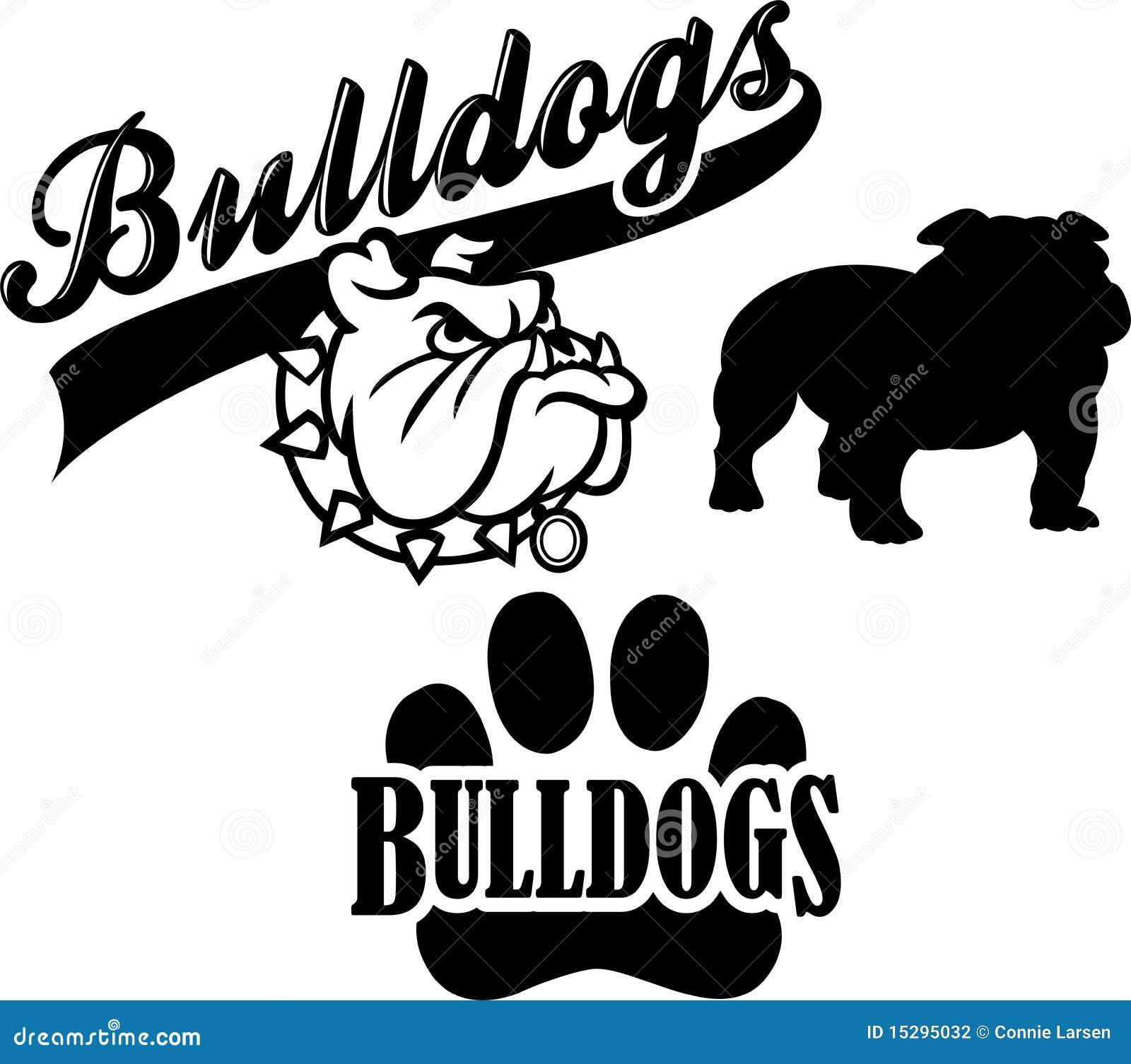 Bulldog Team Mascot/eps