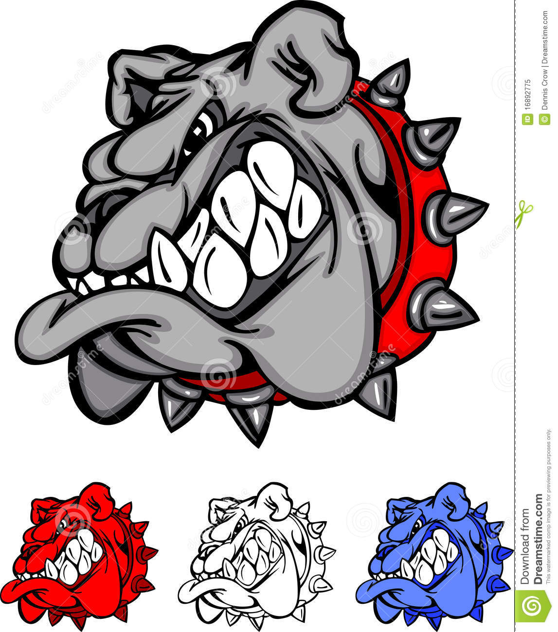 bulldog team mascot vector logo stock vector illustration of rh dreamstime com free bulldog mascot clipart free eagle mascot clipart