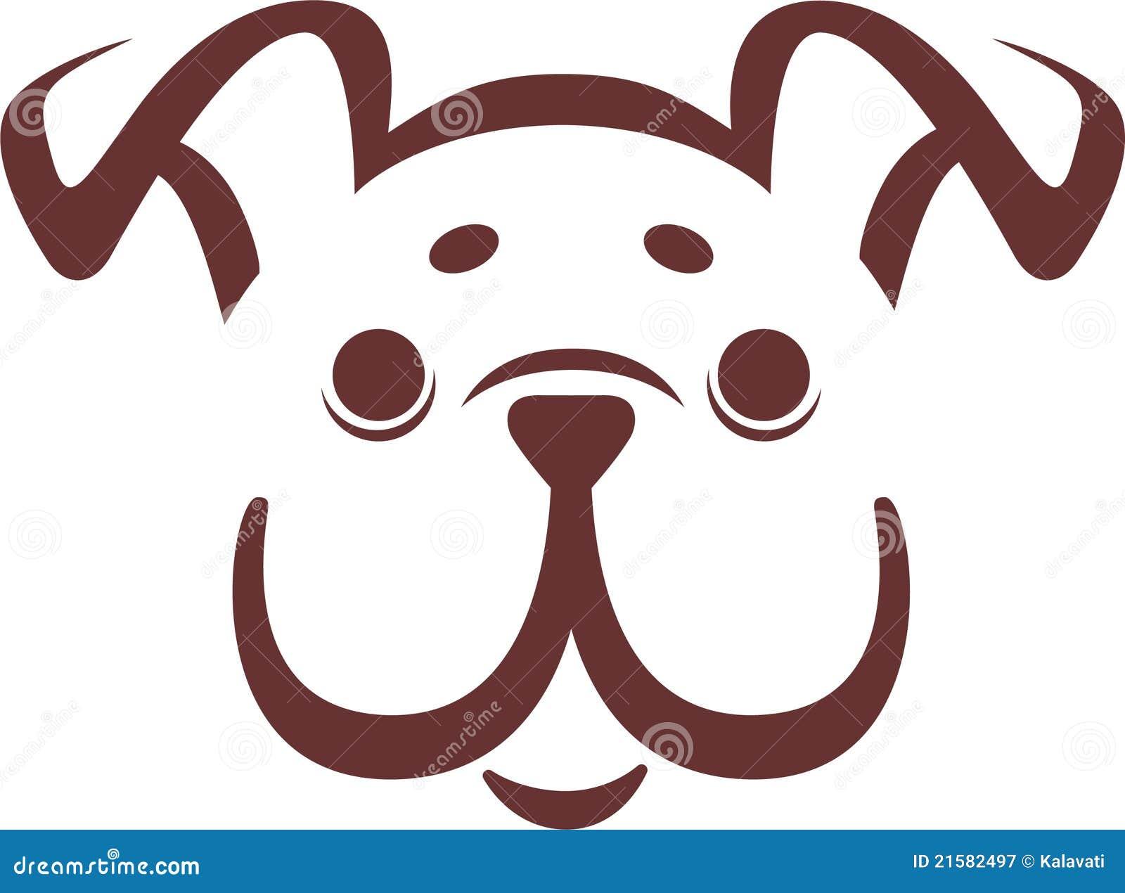Bulldoggvalpvektor