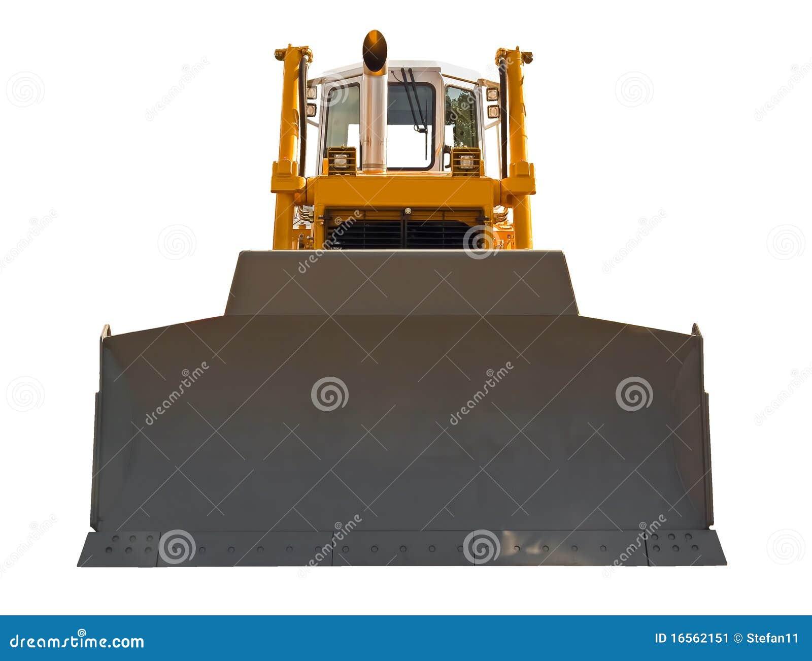 bulldozer front