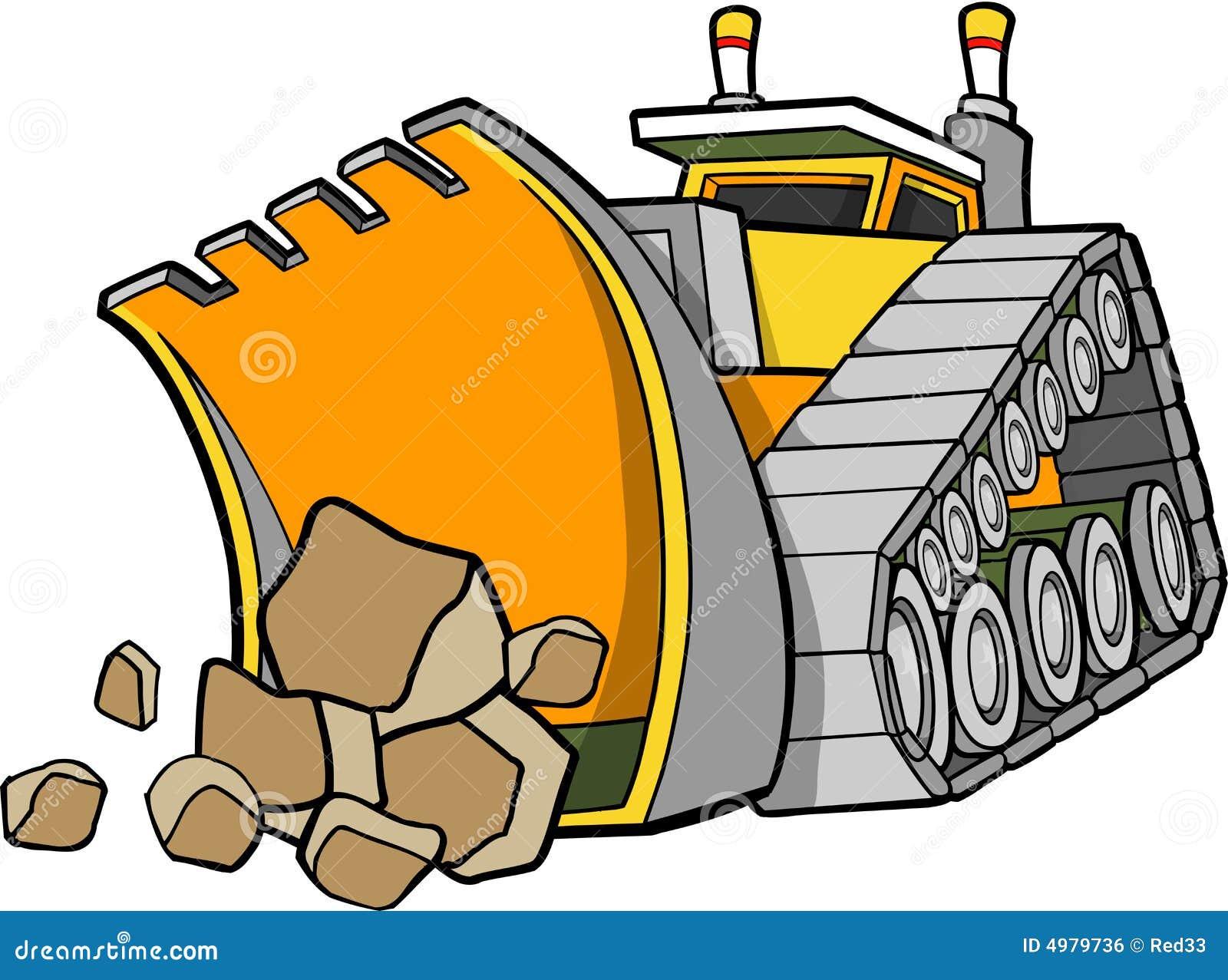 Bulldozer Vector Illustration Royalty Free Stock Image ...