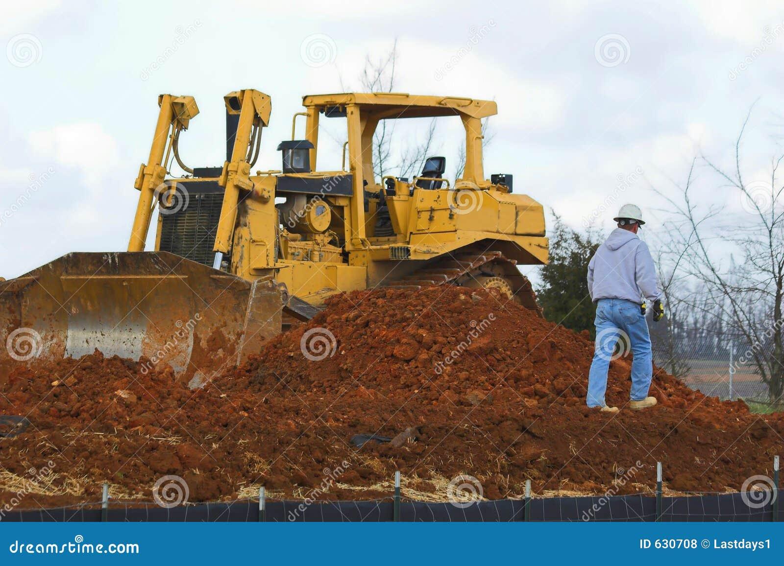 Bulldozerworking